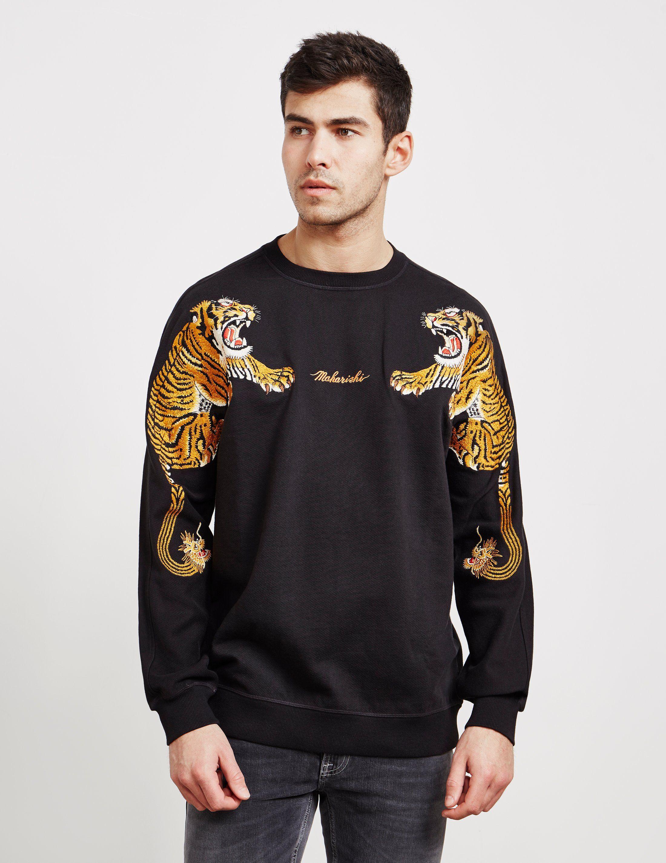 Maharishi Double Tiger Sweatshirt - Online Exclusive