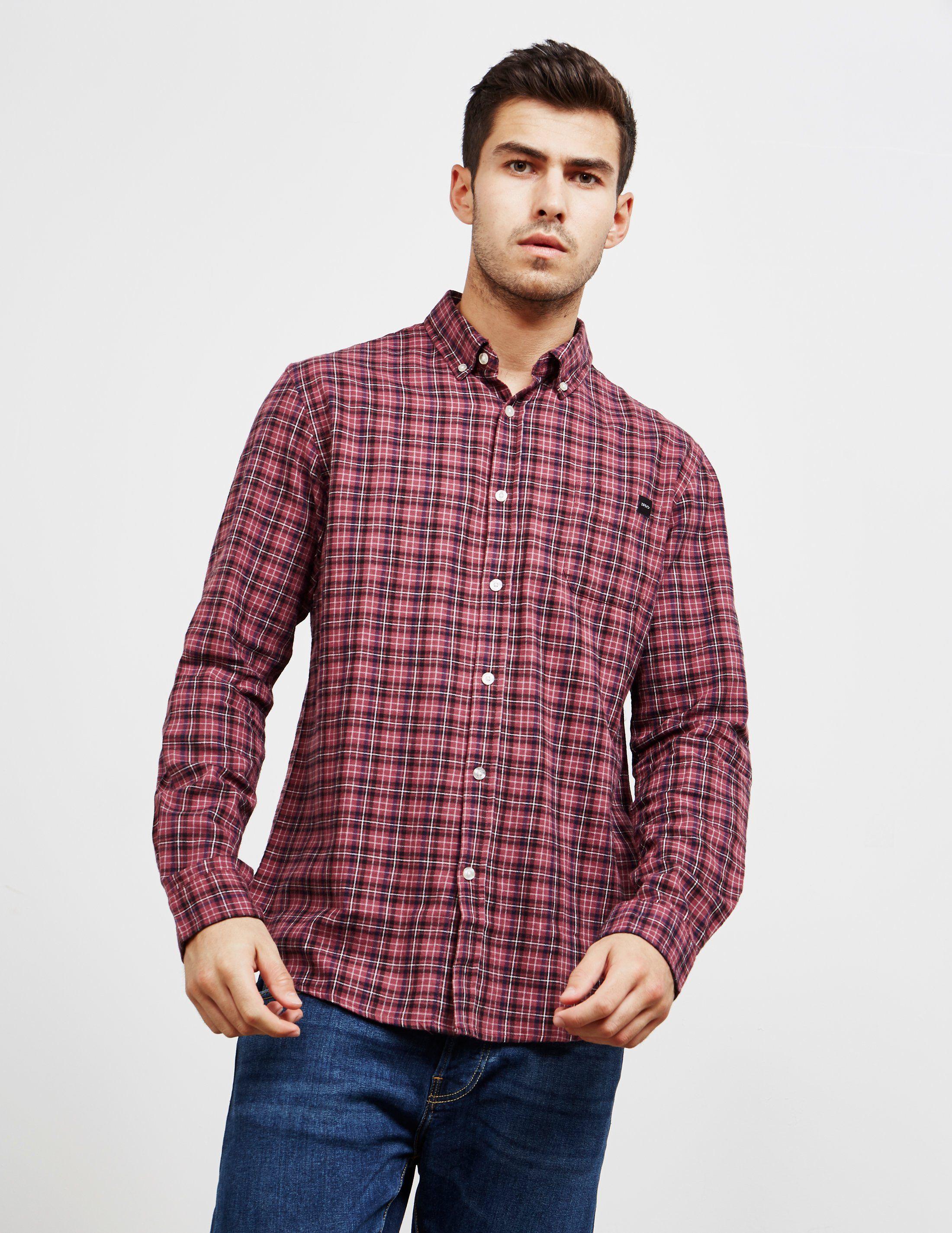 Edwin Standard Check Long Sleeve Shirt