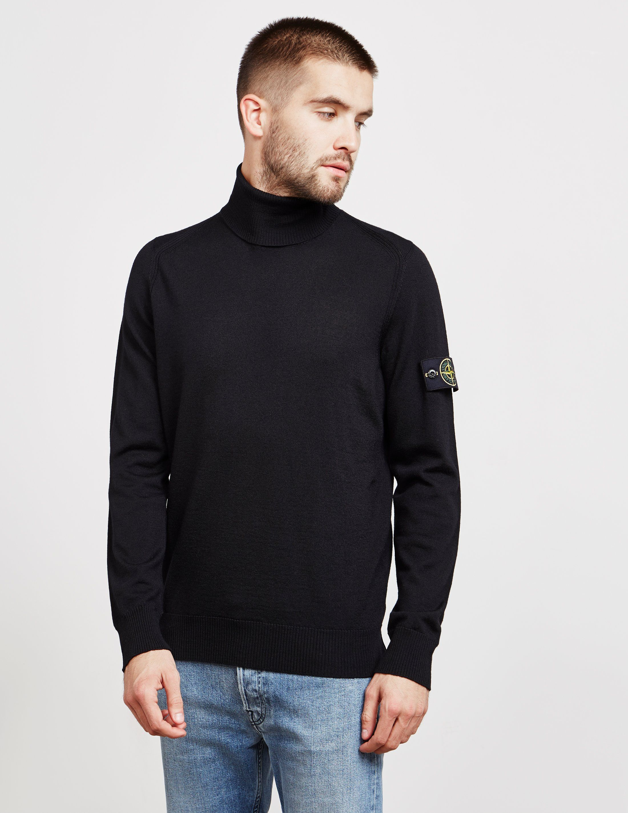 Stone Island Roll Neck Knit Jumper - Online Exclusive