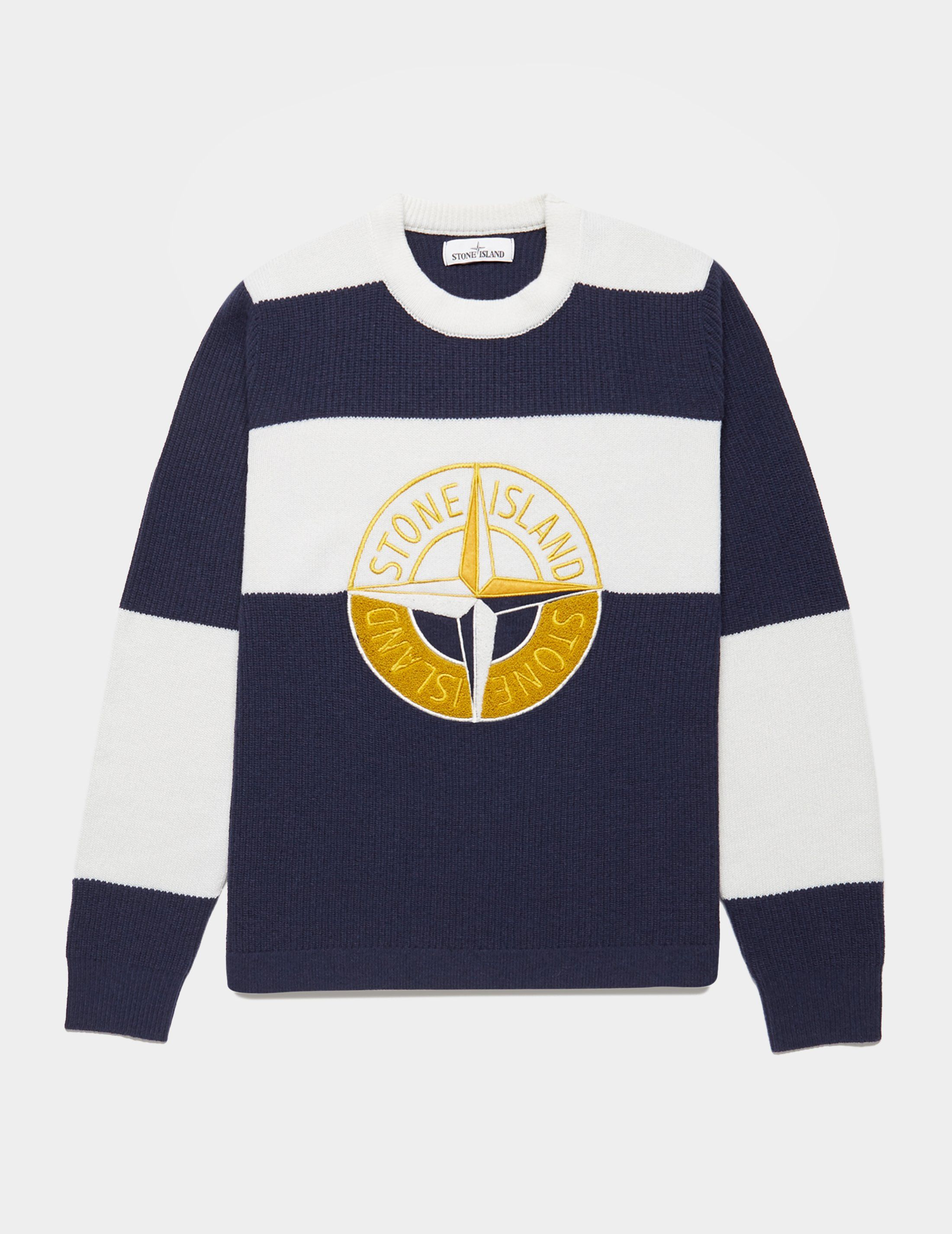 Stone Island Pin Logo Knitted Jumper - Online Exclusive