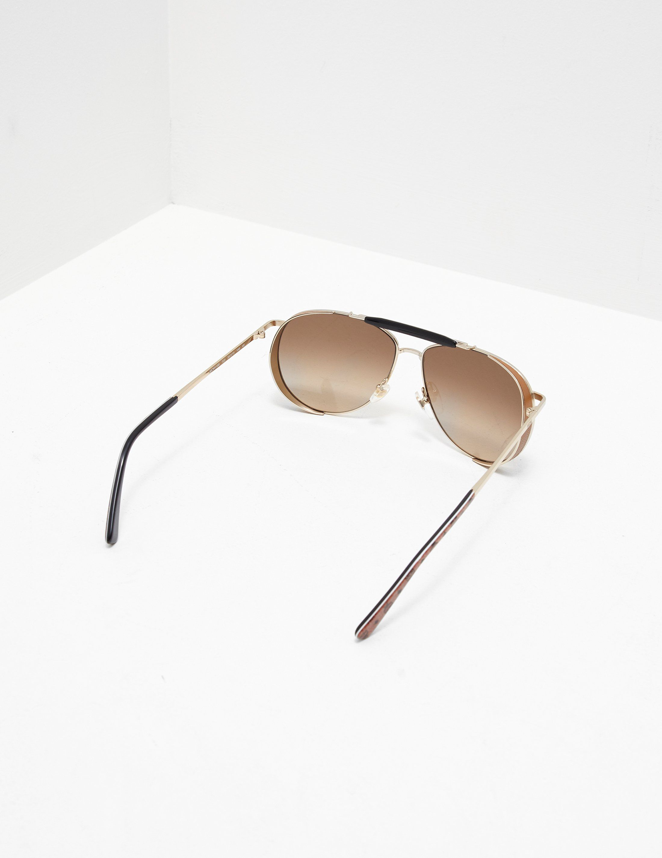 MCM Bar Aviator Sunglasses