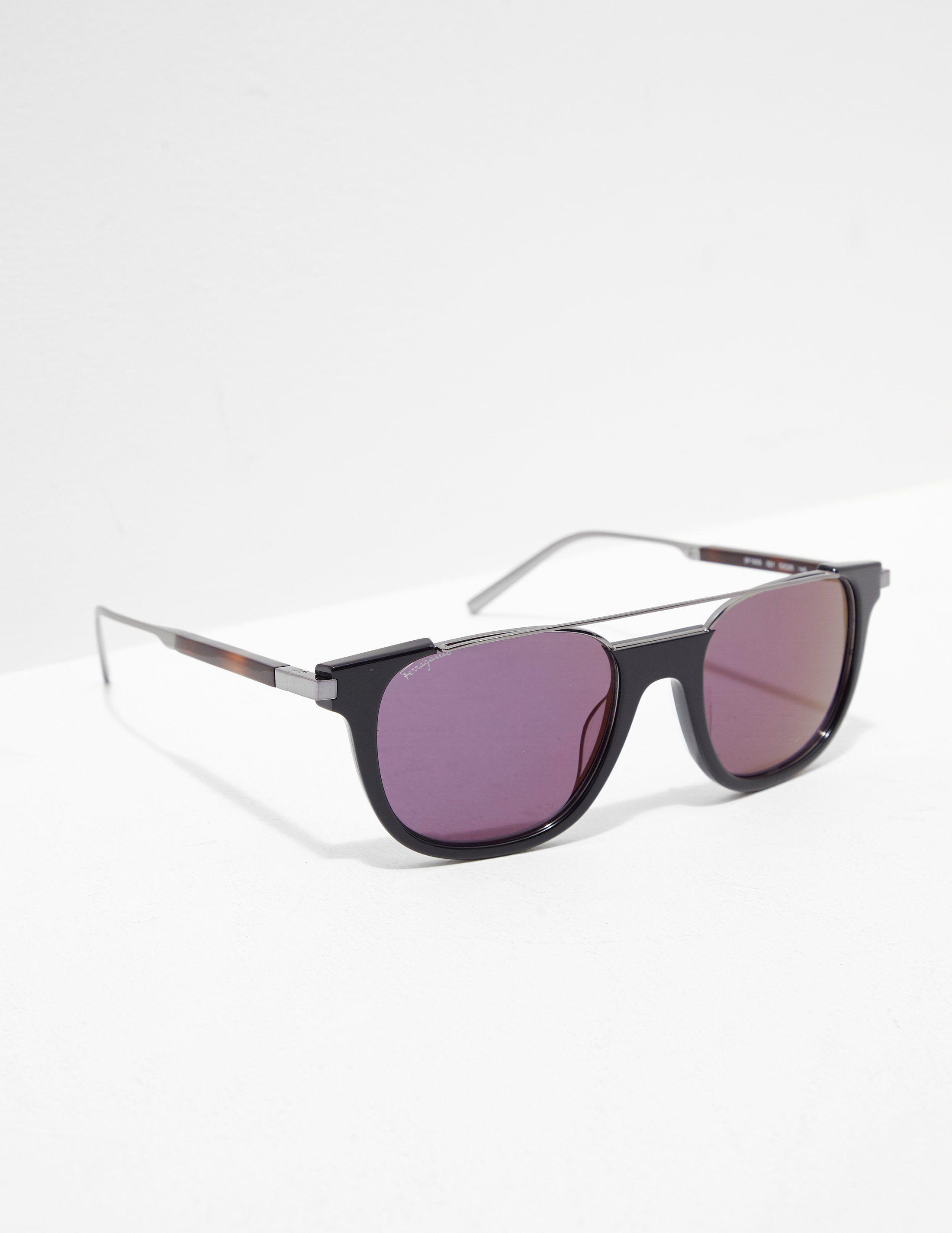 Salvatore Ferragamo Bar Sunglasses - Online Exclusive