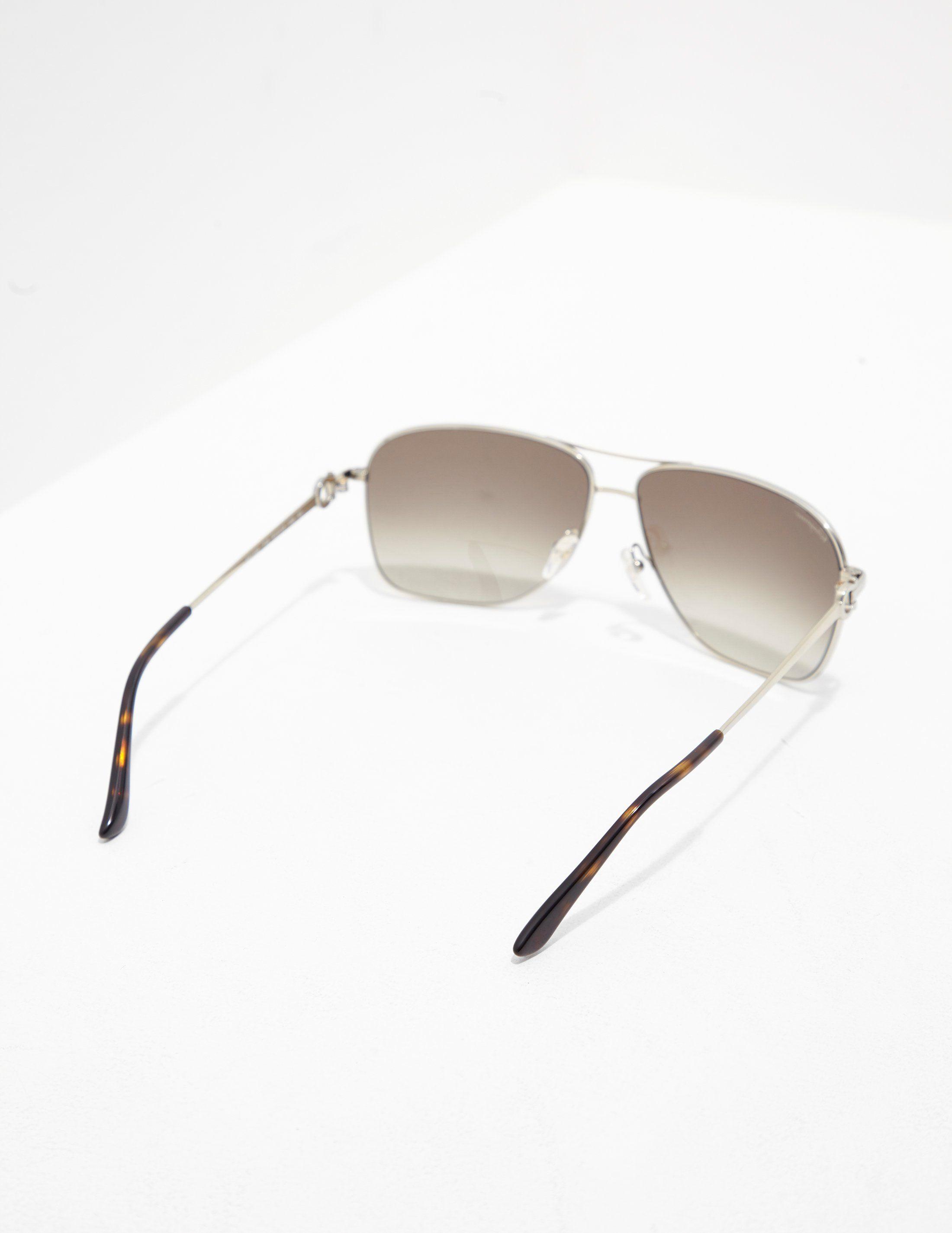 Salvatore Ferragamo Square Aviator Sunglasses - Online Exclusive