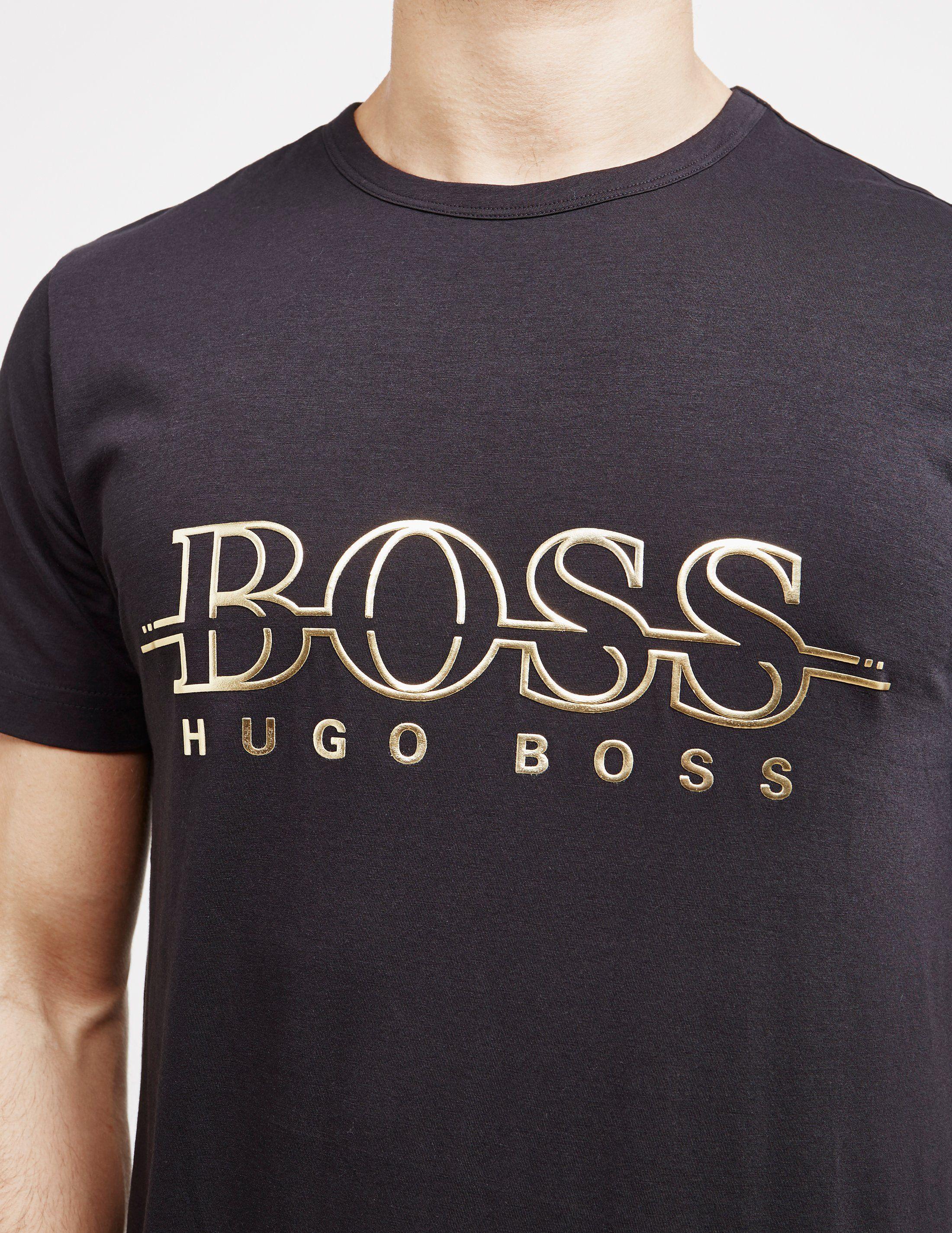 BOSS Short Sleeve Large Logo T-Shirt