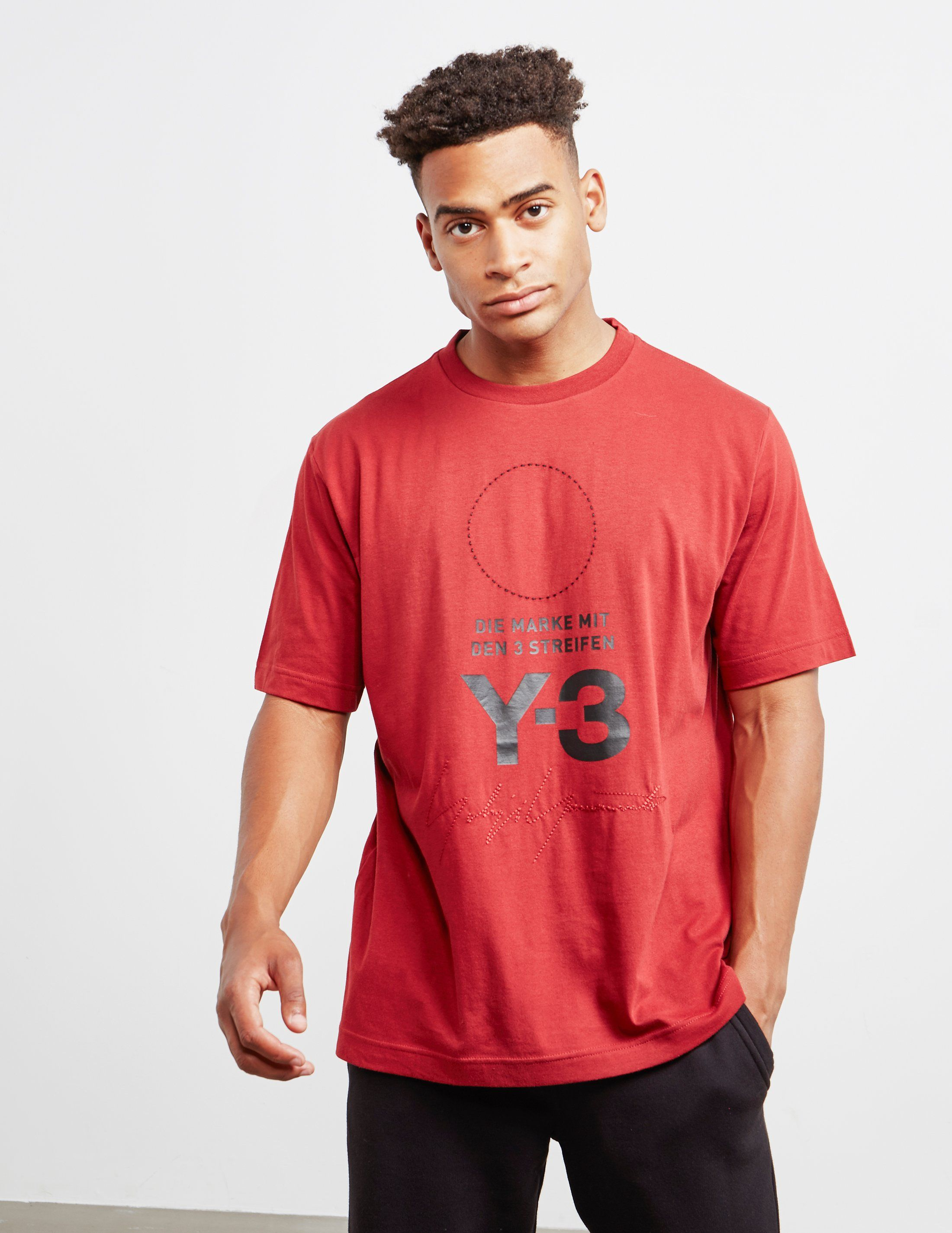Y-3 Stacked Short Sleeve T-Shirt