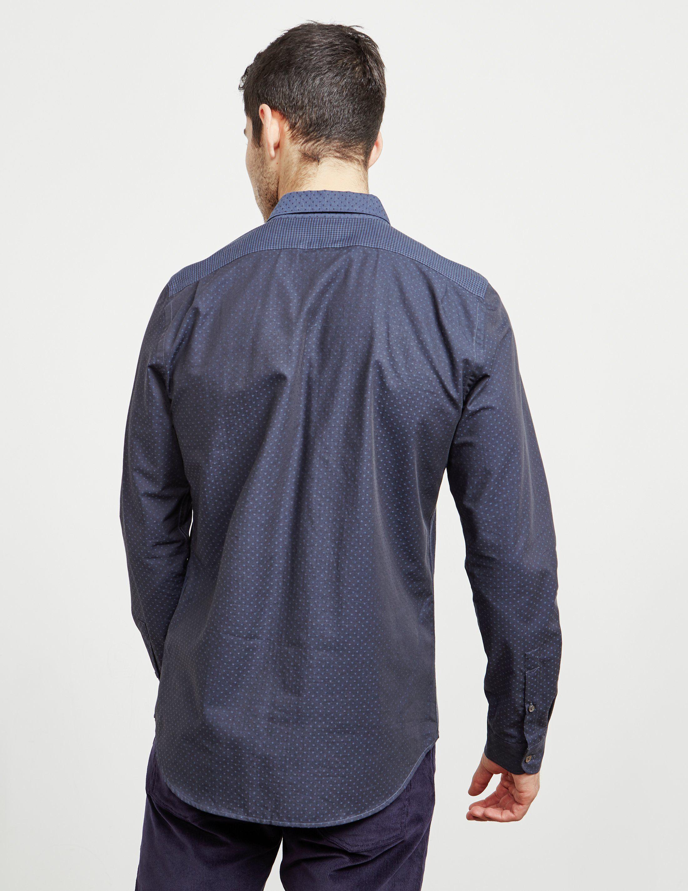 PS Paul Smith Mix Up Long Sleeve Shirt