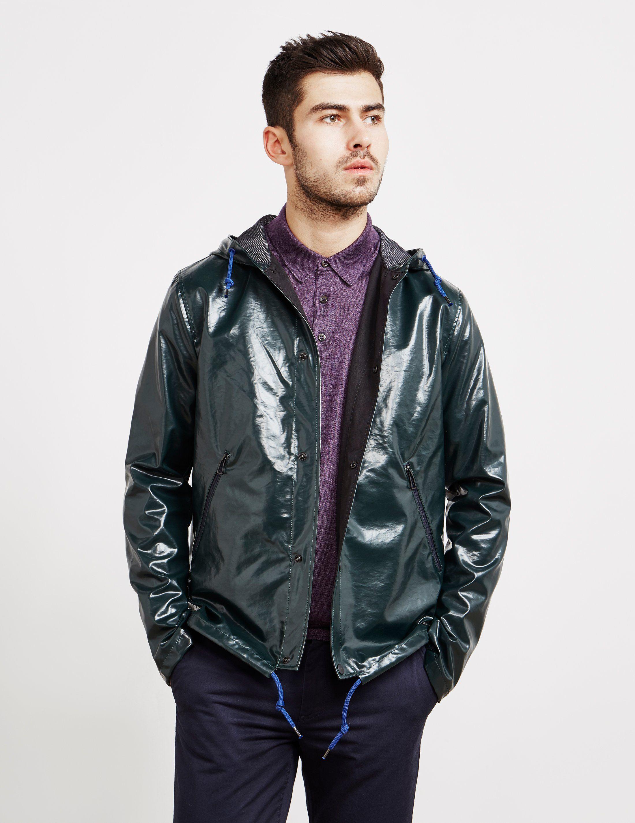 PS Paul Smith High Shine Hooded Jacket