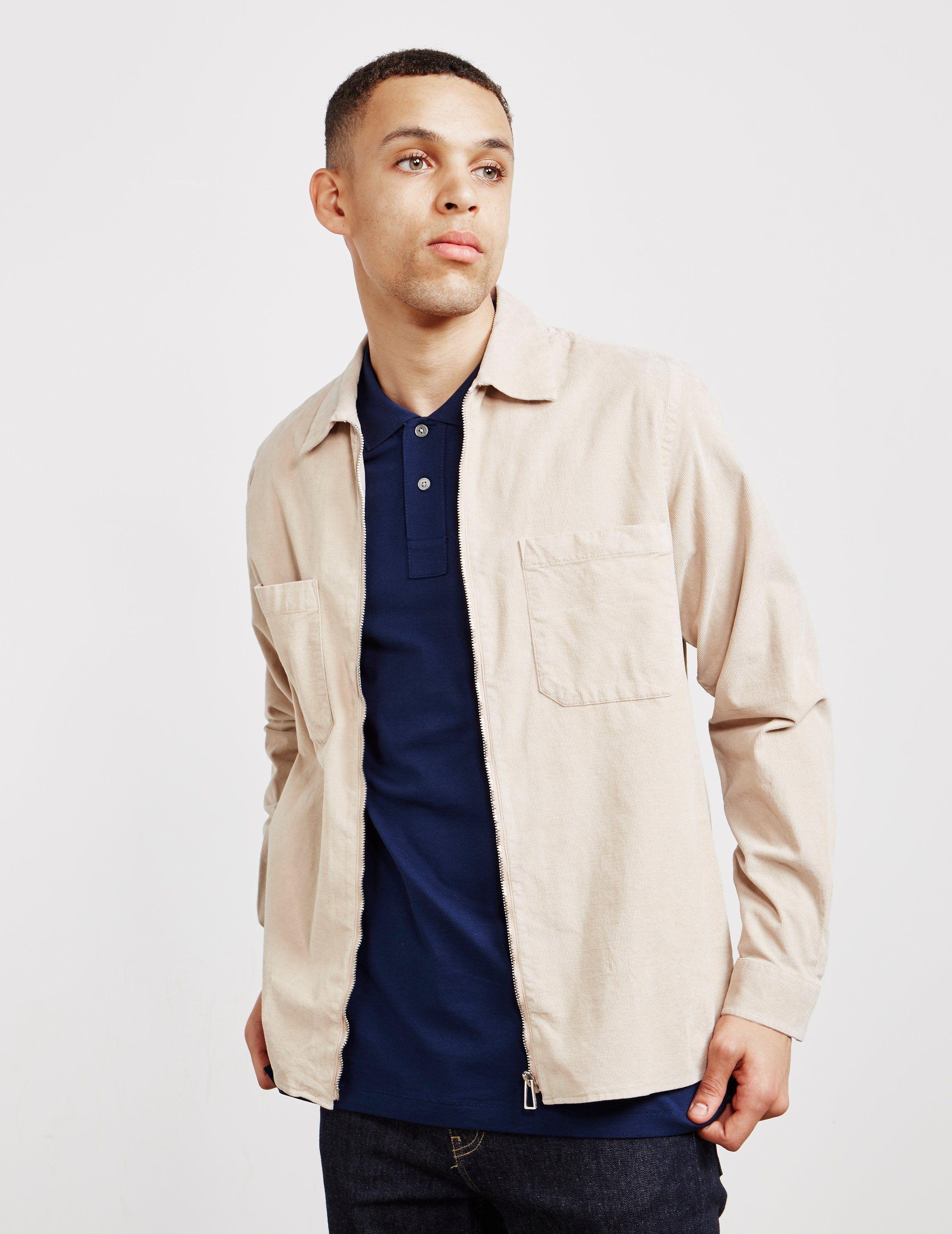 PS Paul Smith Mini Corduroy Long Sleeve Shirt