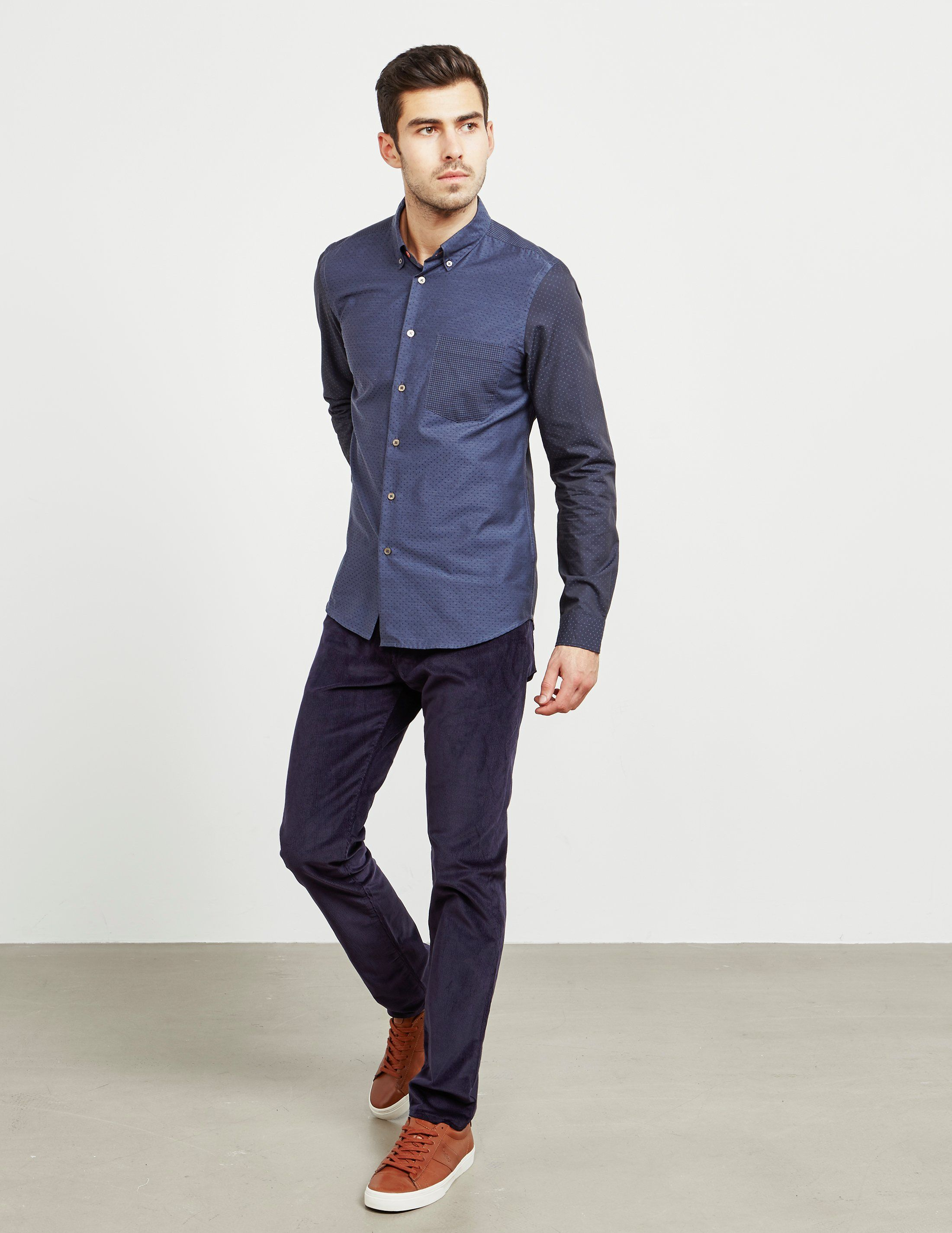 PS Paul Smith Tapered Corduroy Trousers