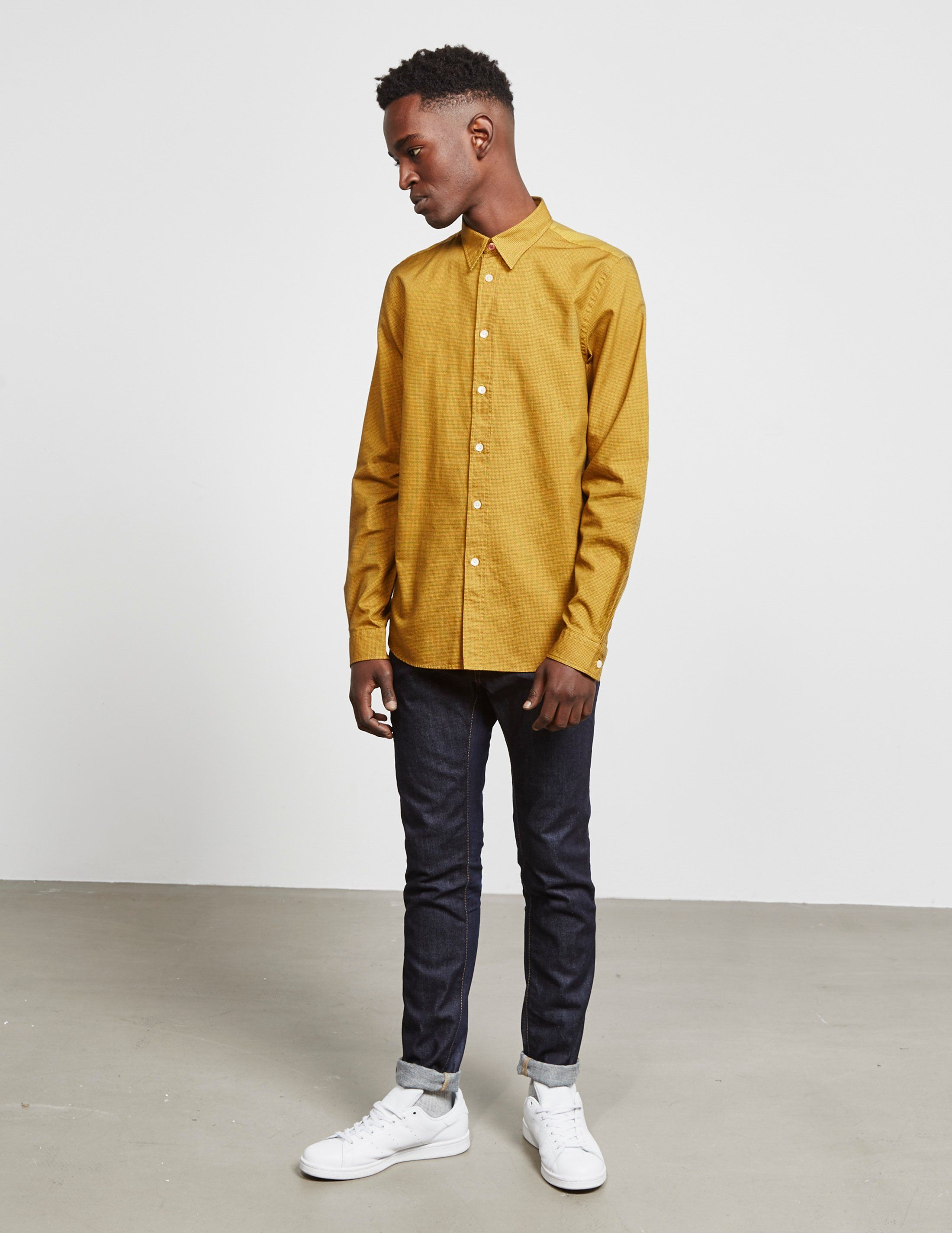 PS Paul Smith Textured Long Sleeve Shirt