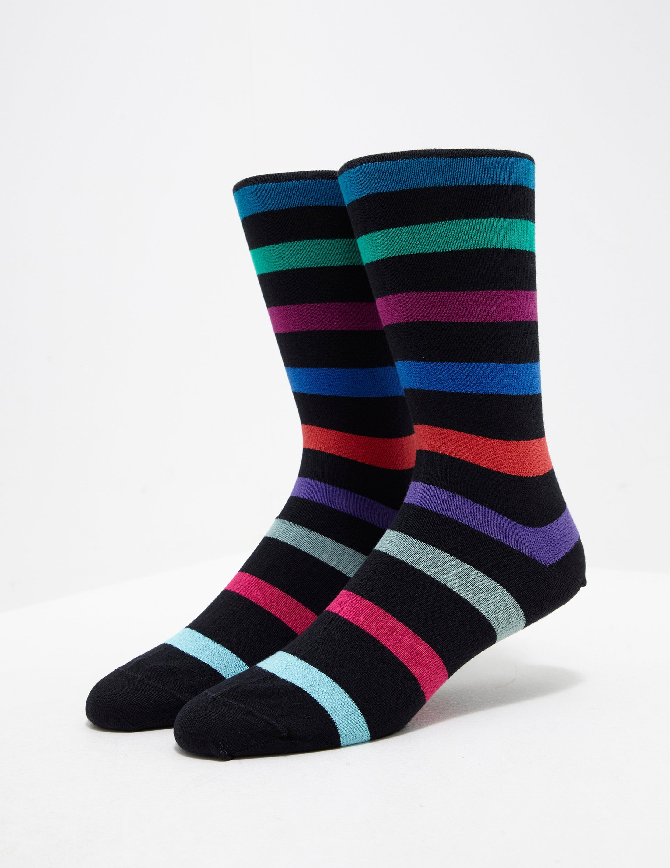 PS Paul Smith Contrast Stripe Socks - Online Exclusive