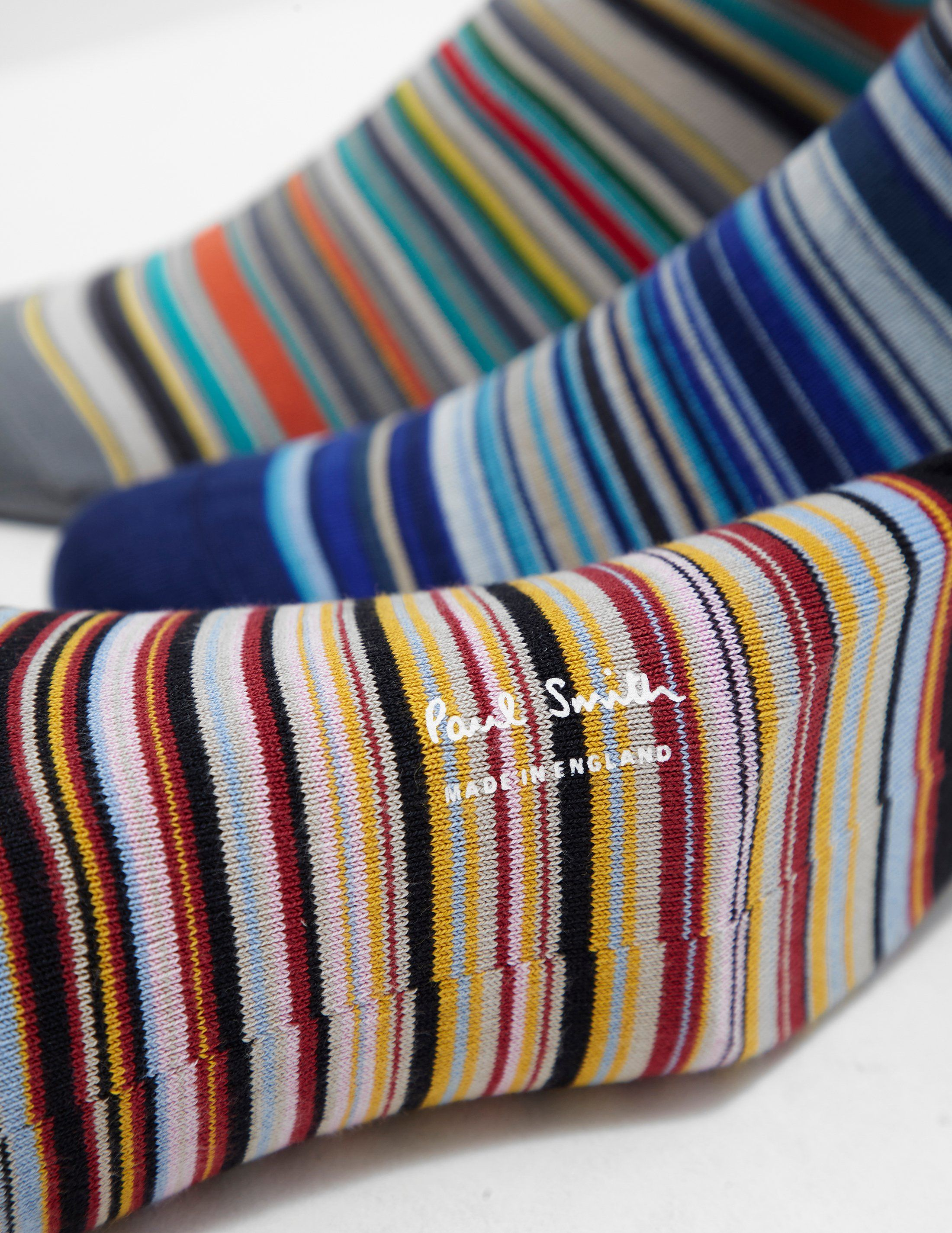 PS Paul Smith 3-Pack Striped Socks - Online Exclusive