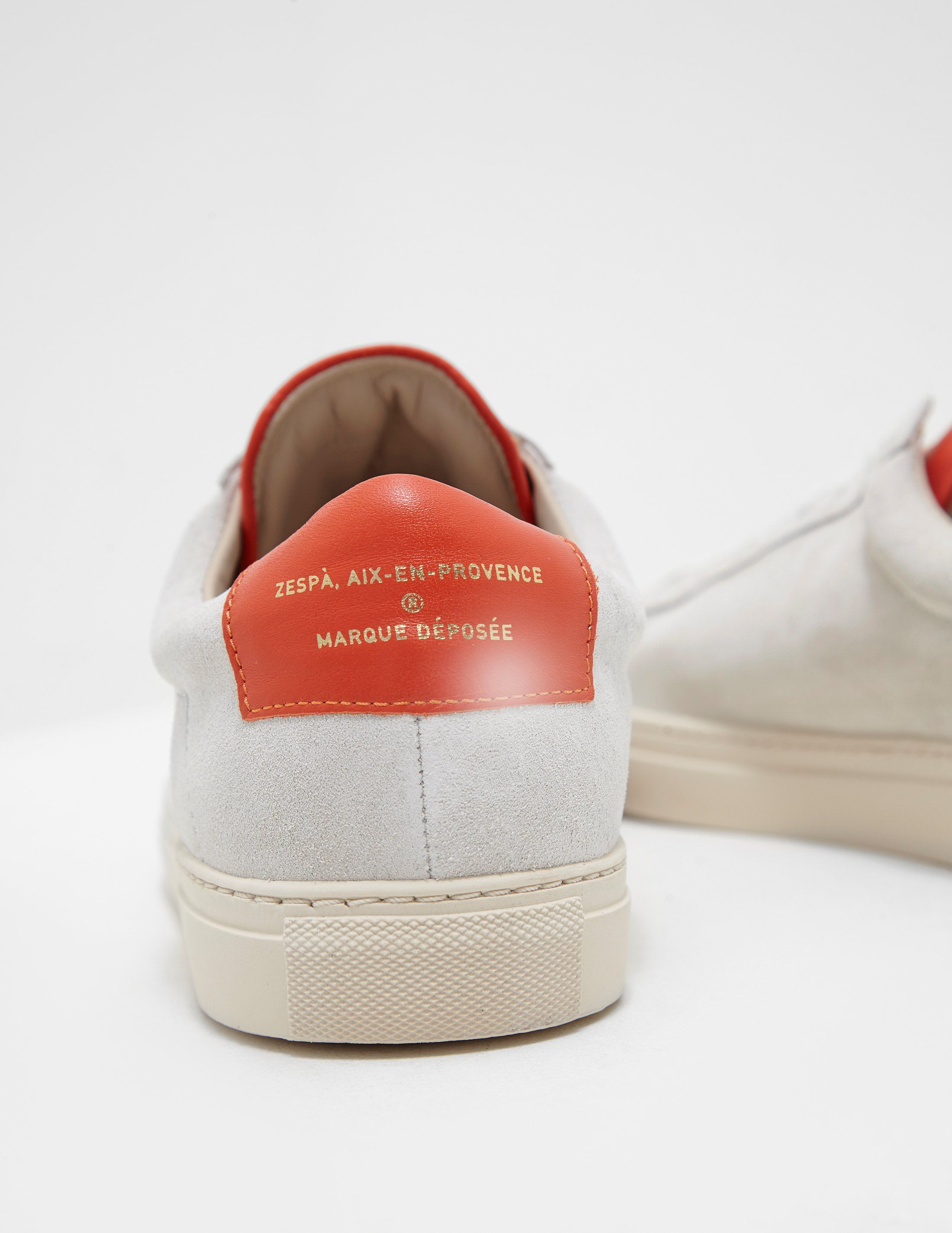 Zespa Zespa Low Top Suede Trainer - Online Exclusive