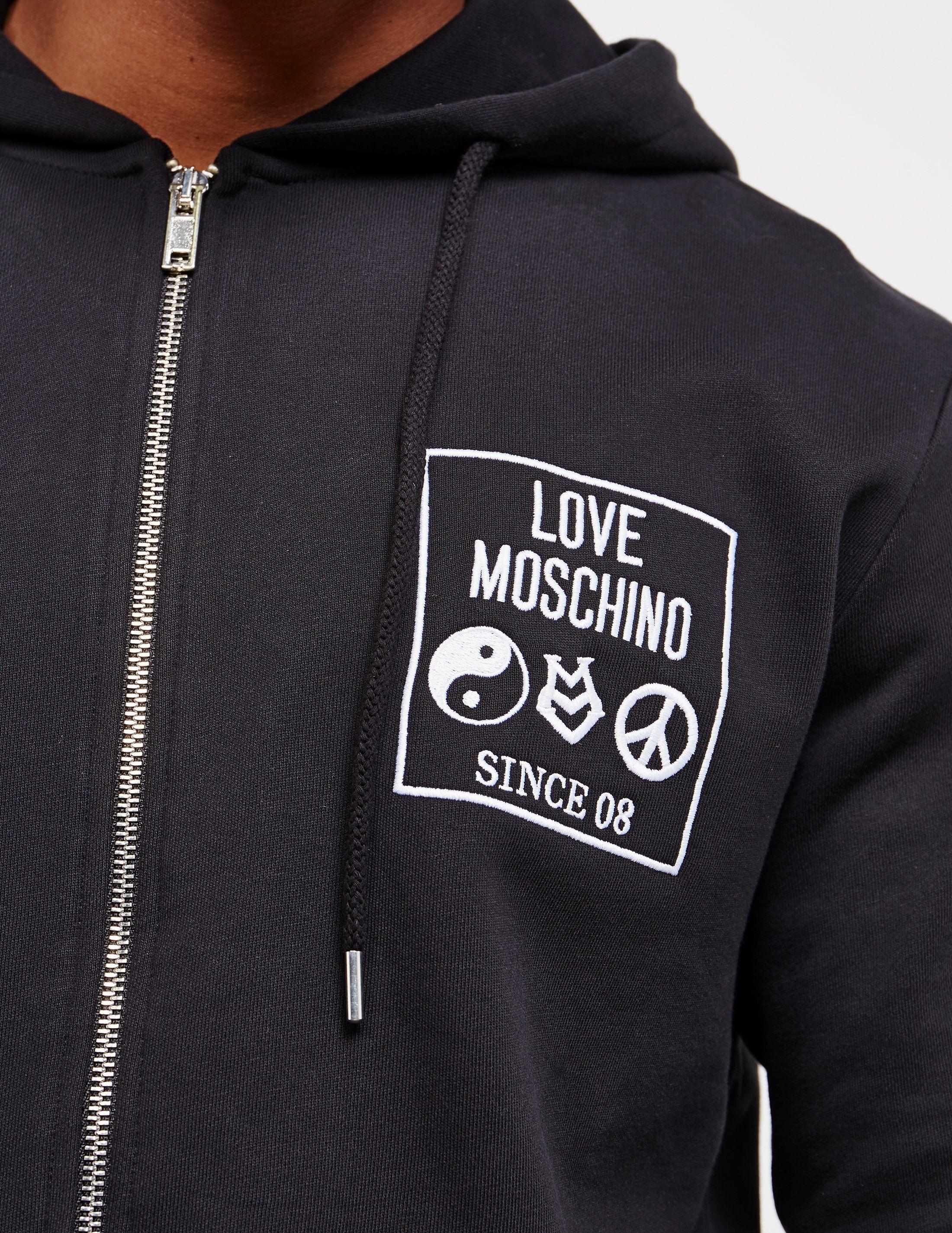 Love Moschino Box Full Zip Hoodie