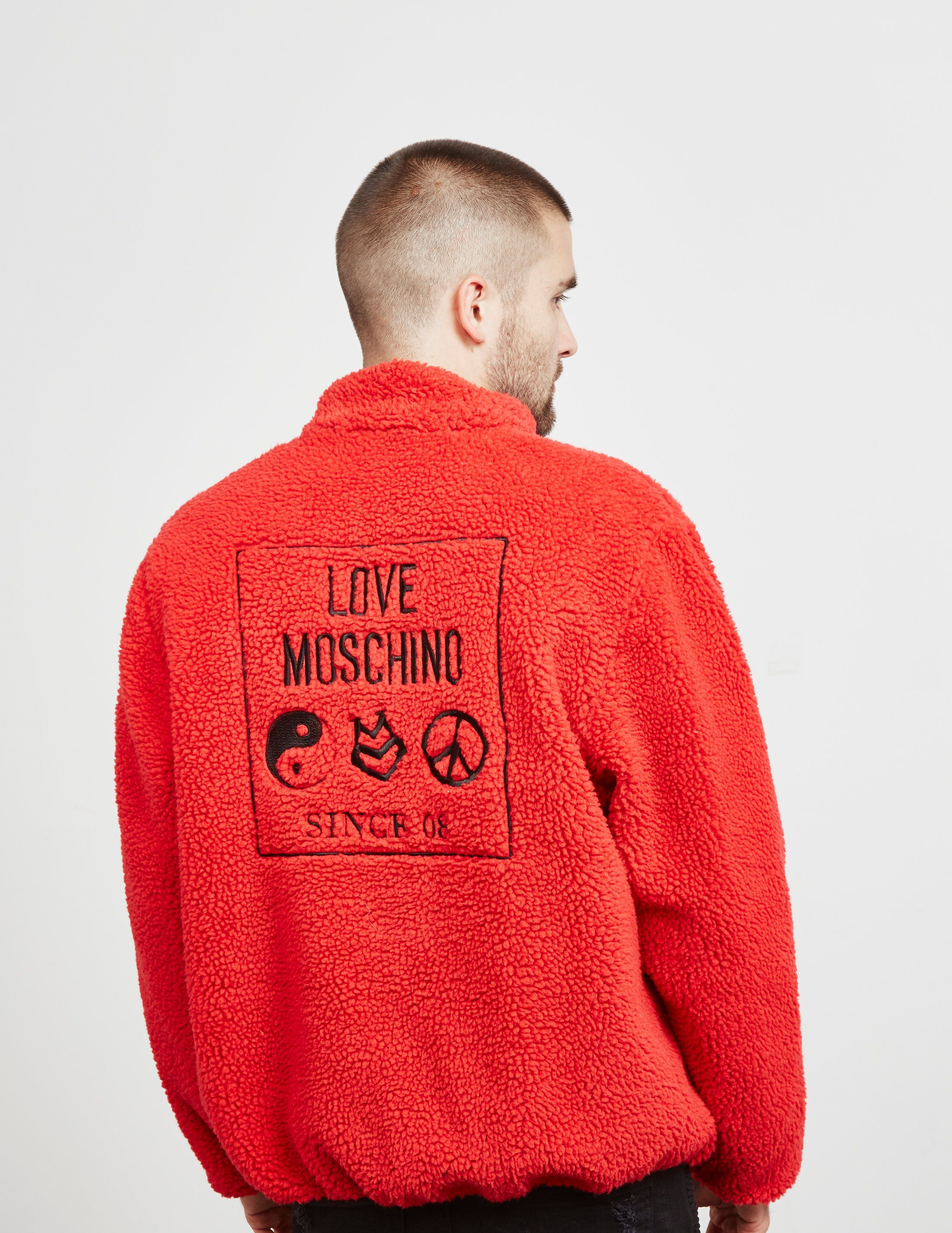 Love Moschino Reverse Symbols Jacket - Online Exclusive