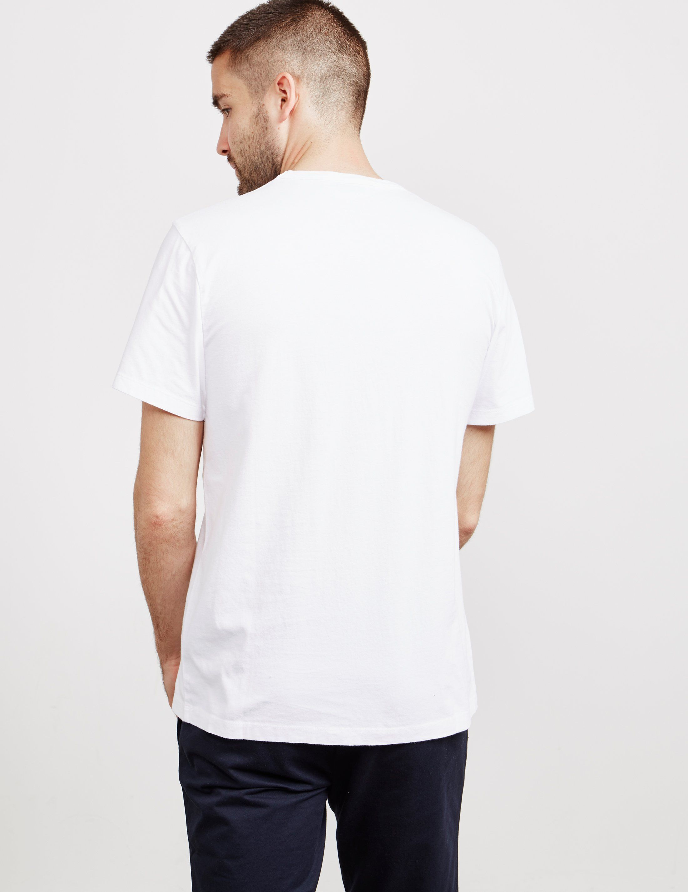 Maison Kitsune Foxes Short Sleeve T-Shirt - Online Exclusive