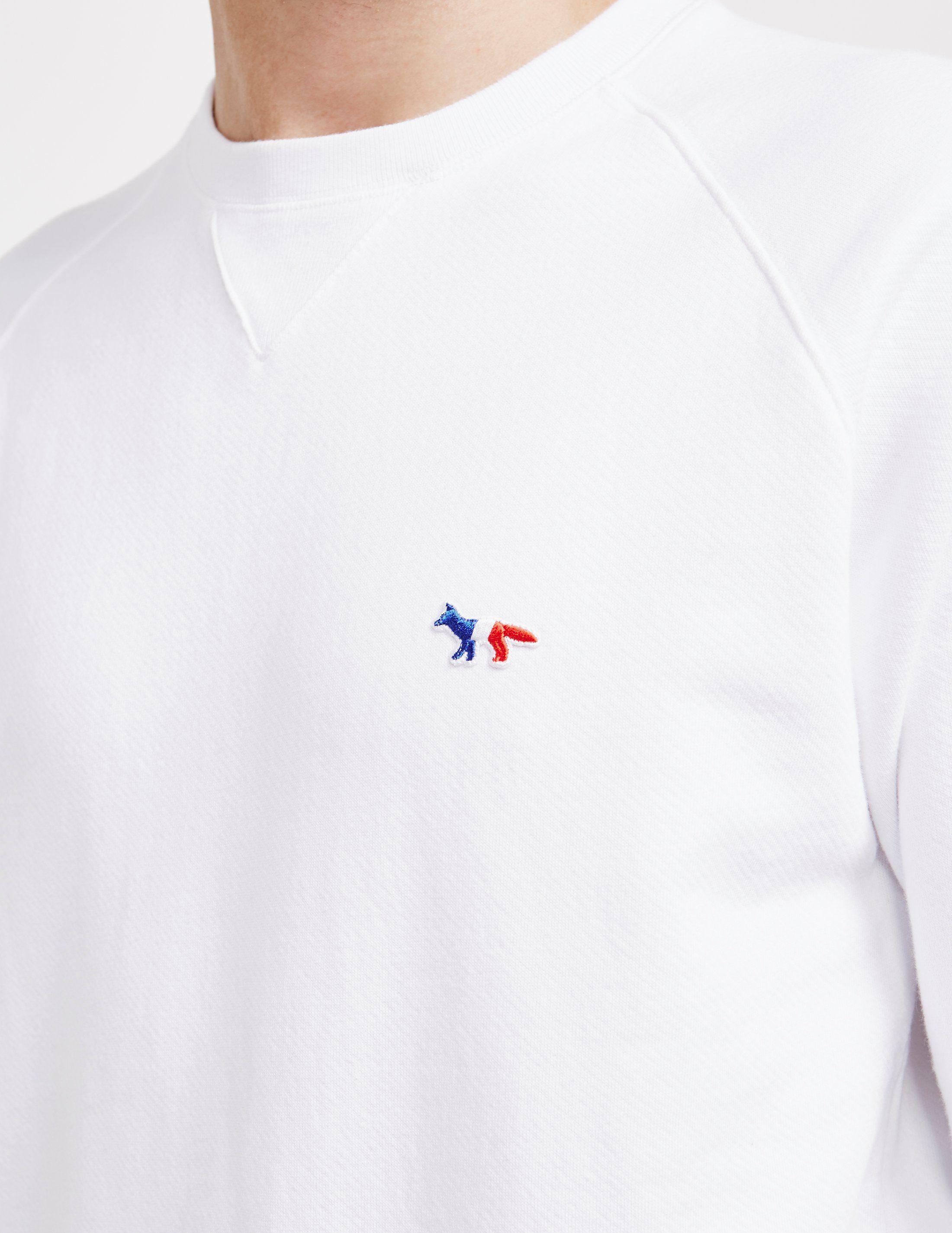 Maison Kitsune Trifox Sweatshirt