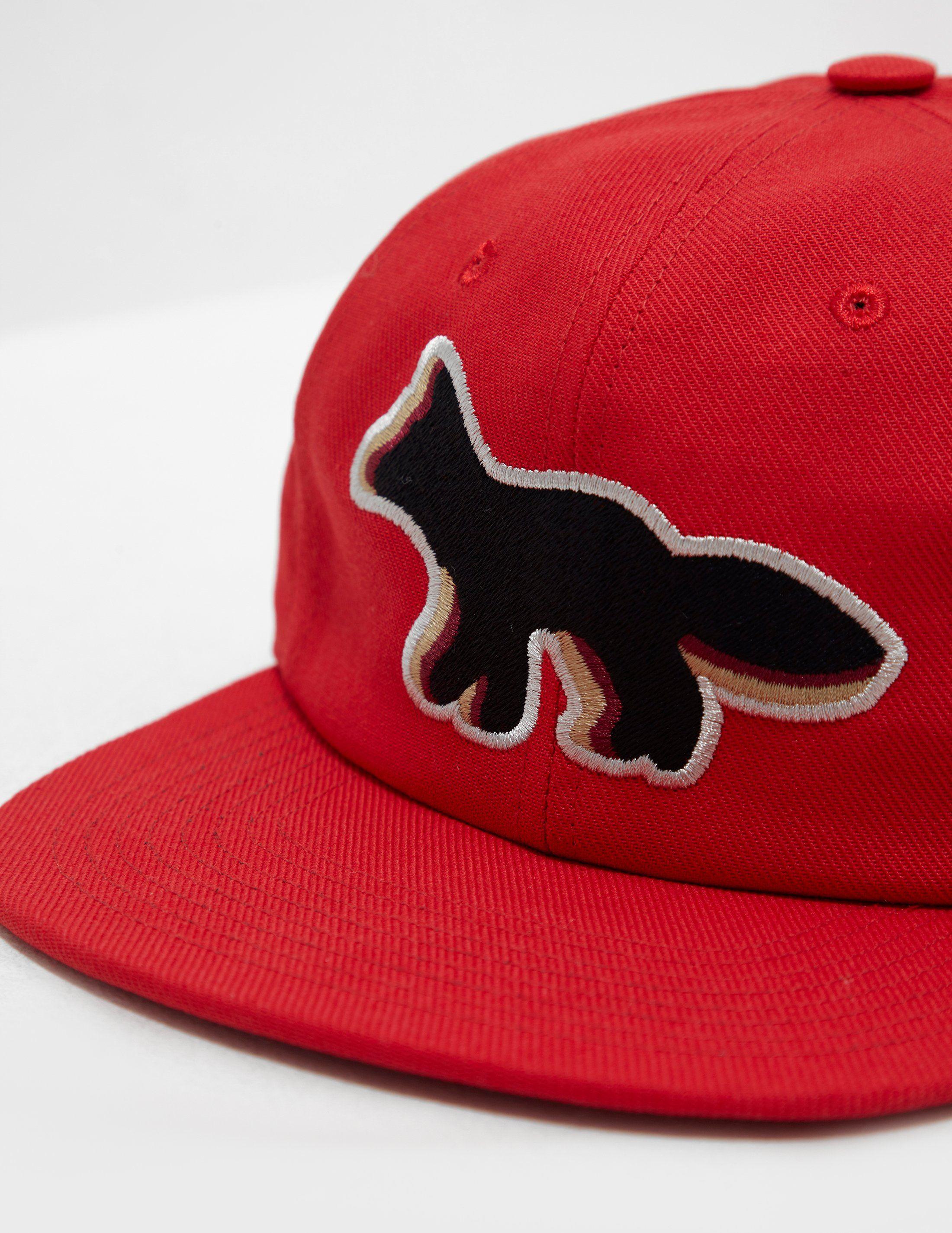 Maison Kitsune Fox Cap - Online Exclusive