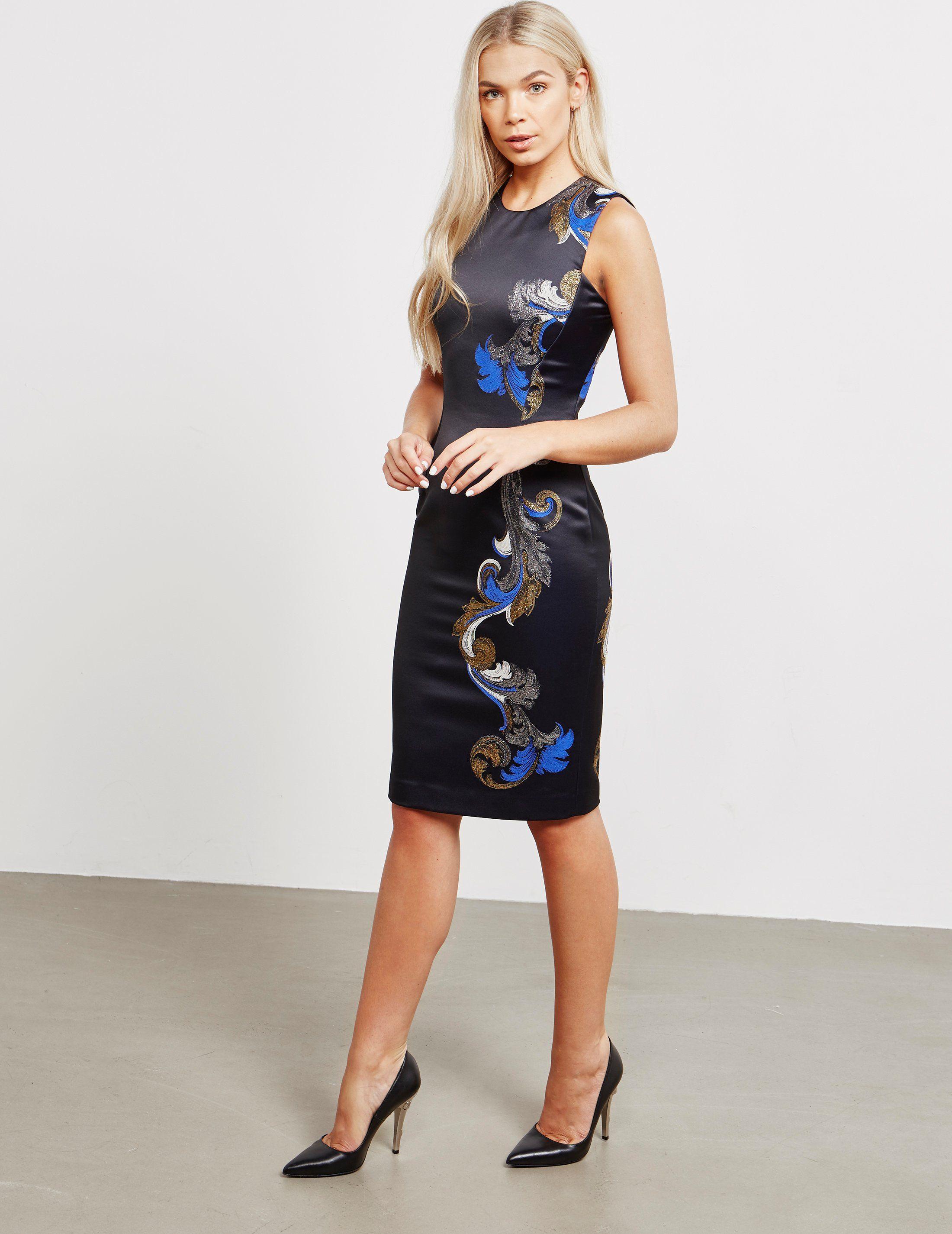 Versace Print Detail Dress - Online Exclusive