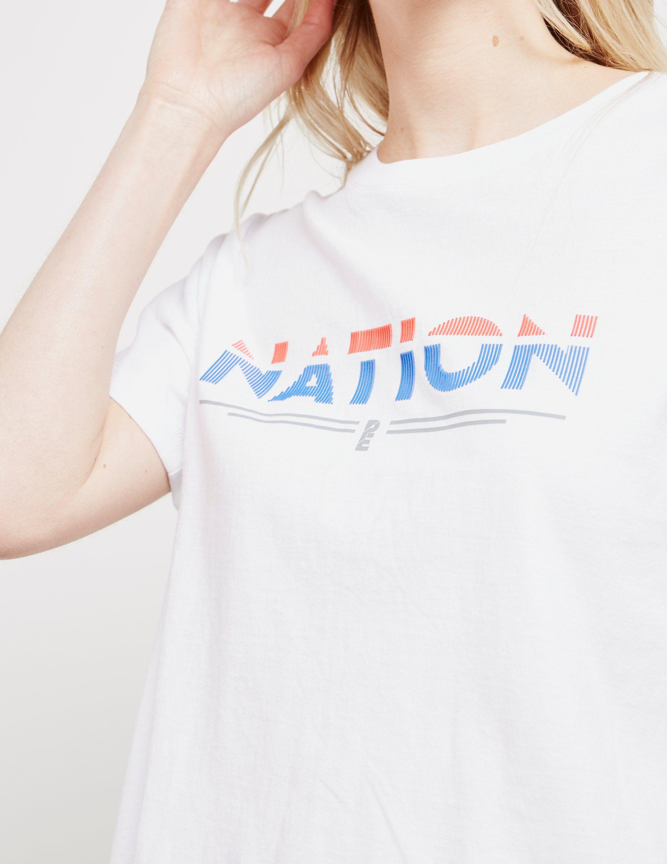P.E Nation Point Flag Short Sleeve T-Shirt