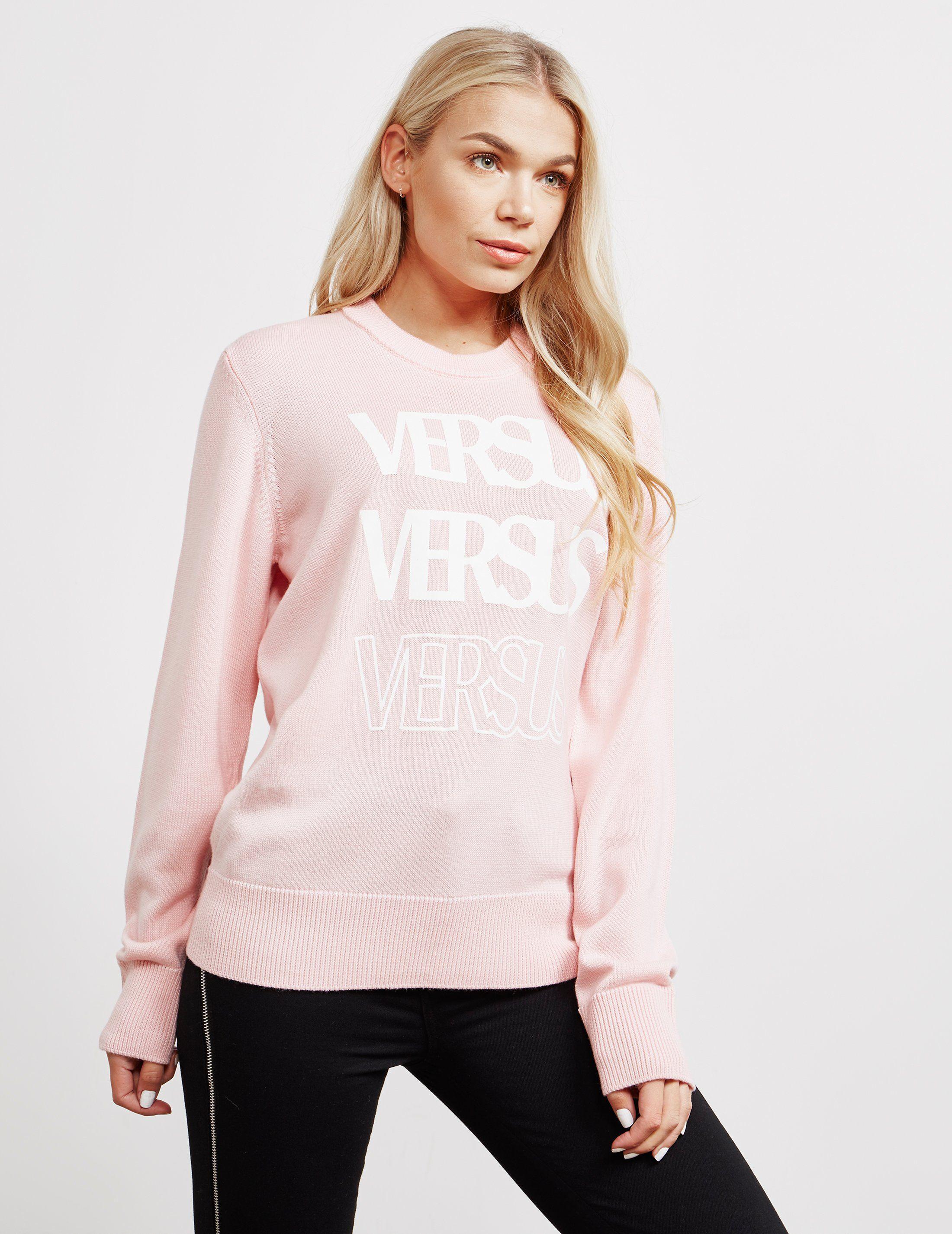 Versus Versace 3 Logo Jumper - Online Exclusive