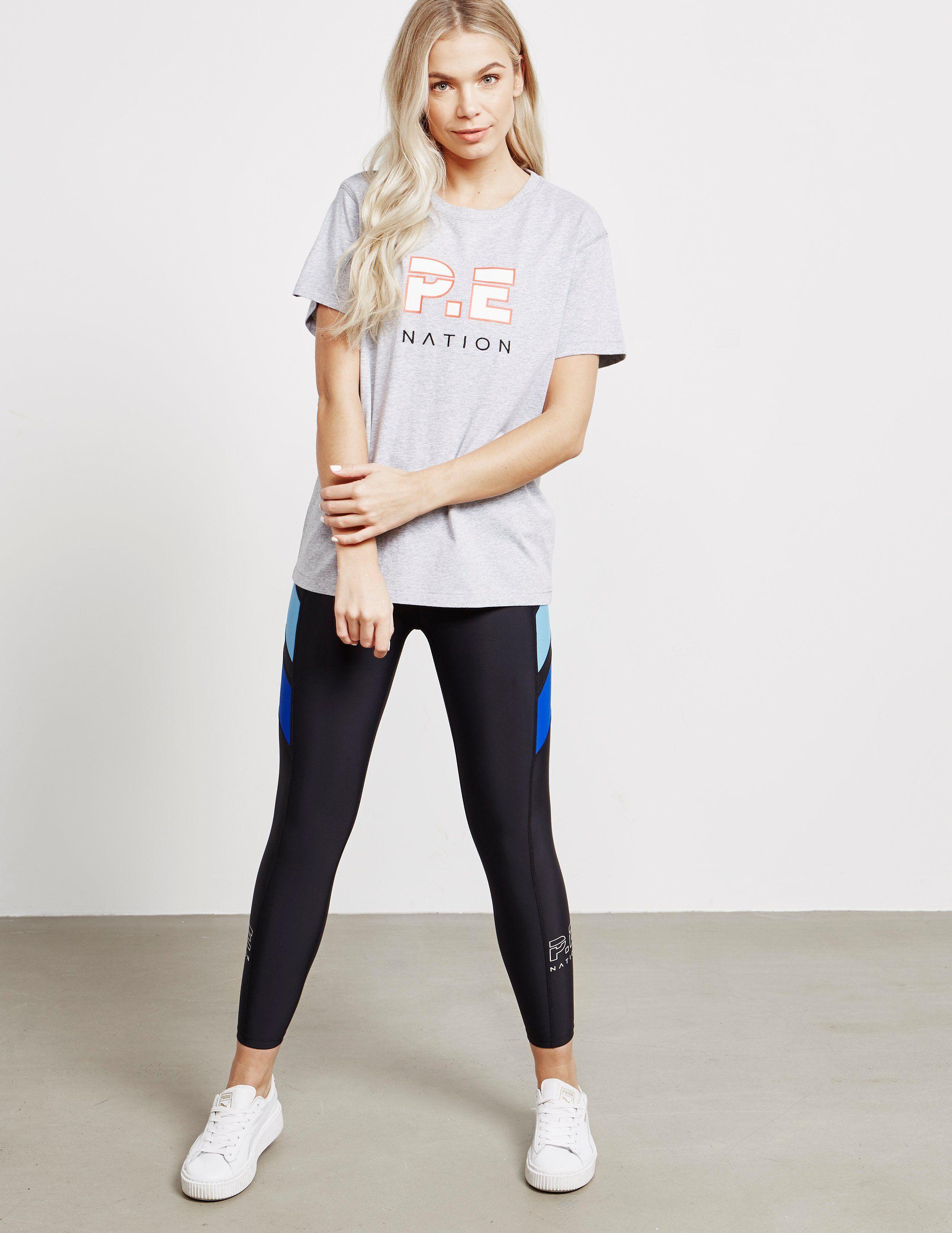 P.E Nation Double Track Short Sleeve T-Shirt