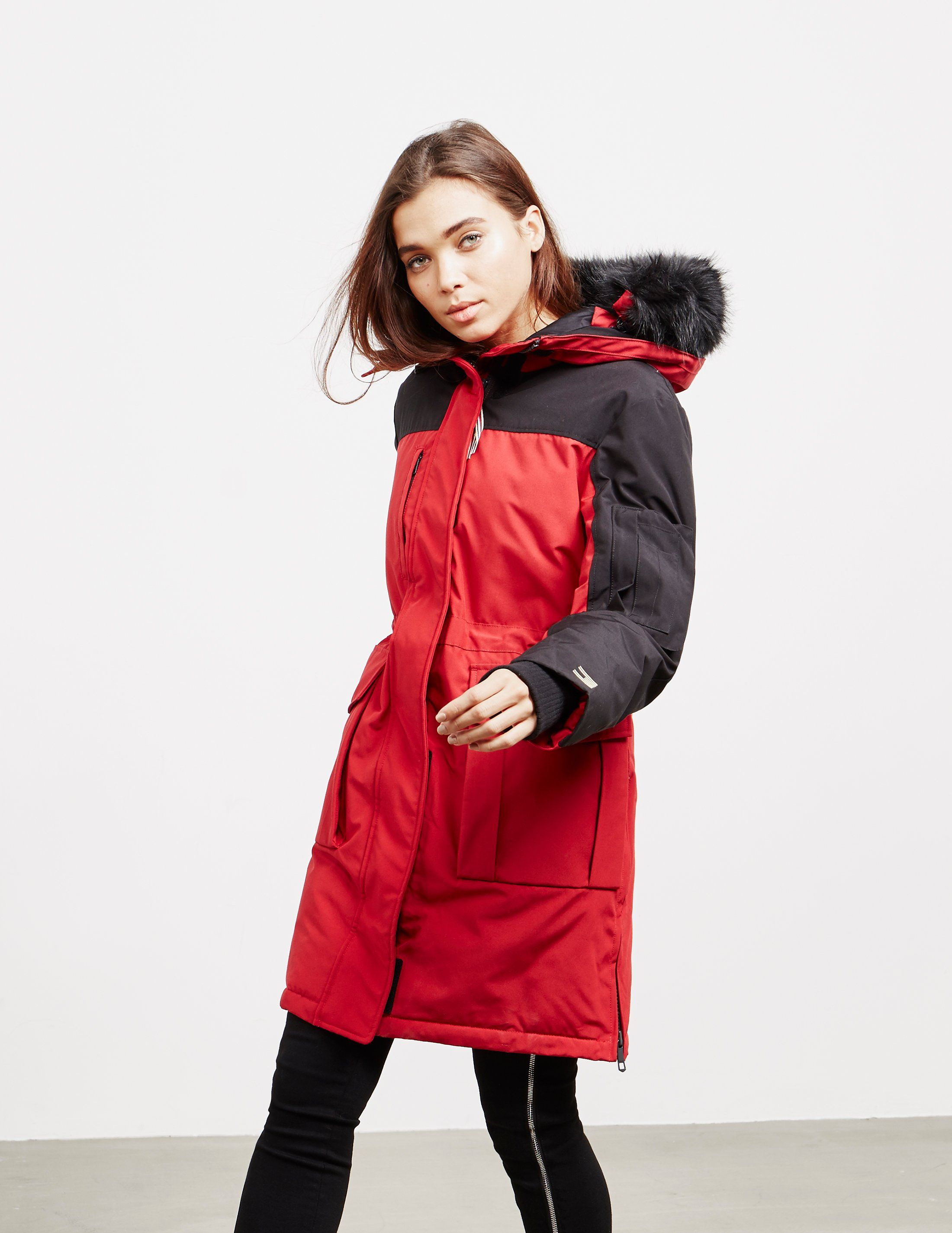 Tommy Hilfiger Colour Block Parka Jacket - Online Exclusive