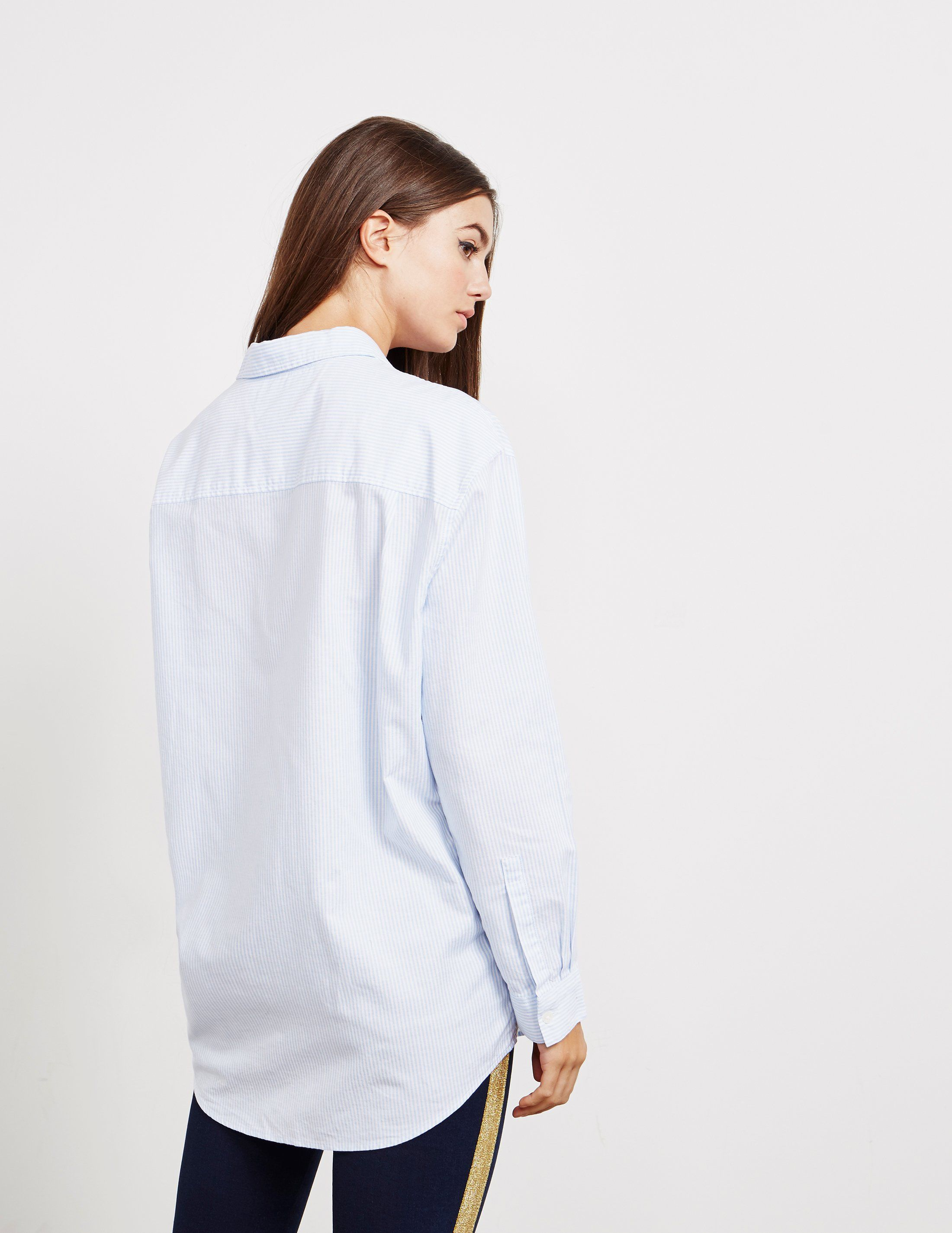 Tommy Hilfiger Boyfriend Long Sleeve Shirt - Online Exclusive