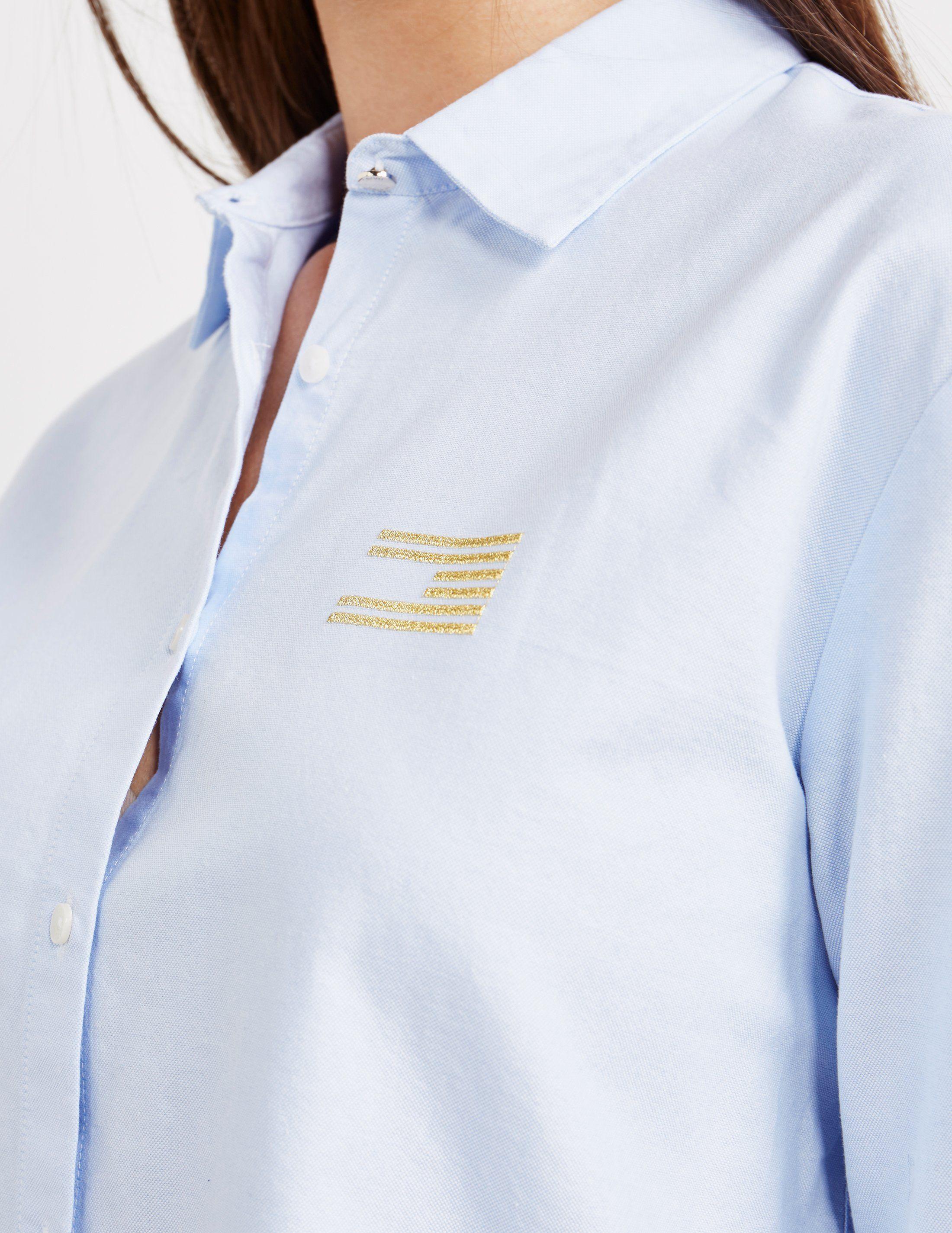 Tommy Hilfiger Girlfriend Long Sleeve Shirt - Online Exclusive