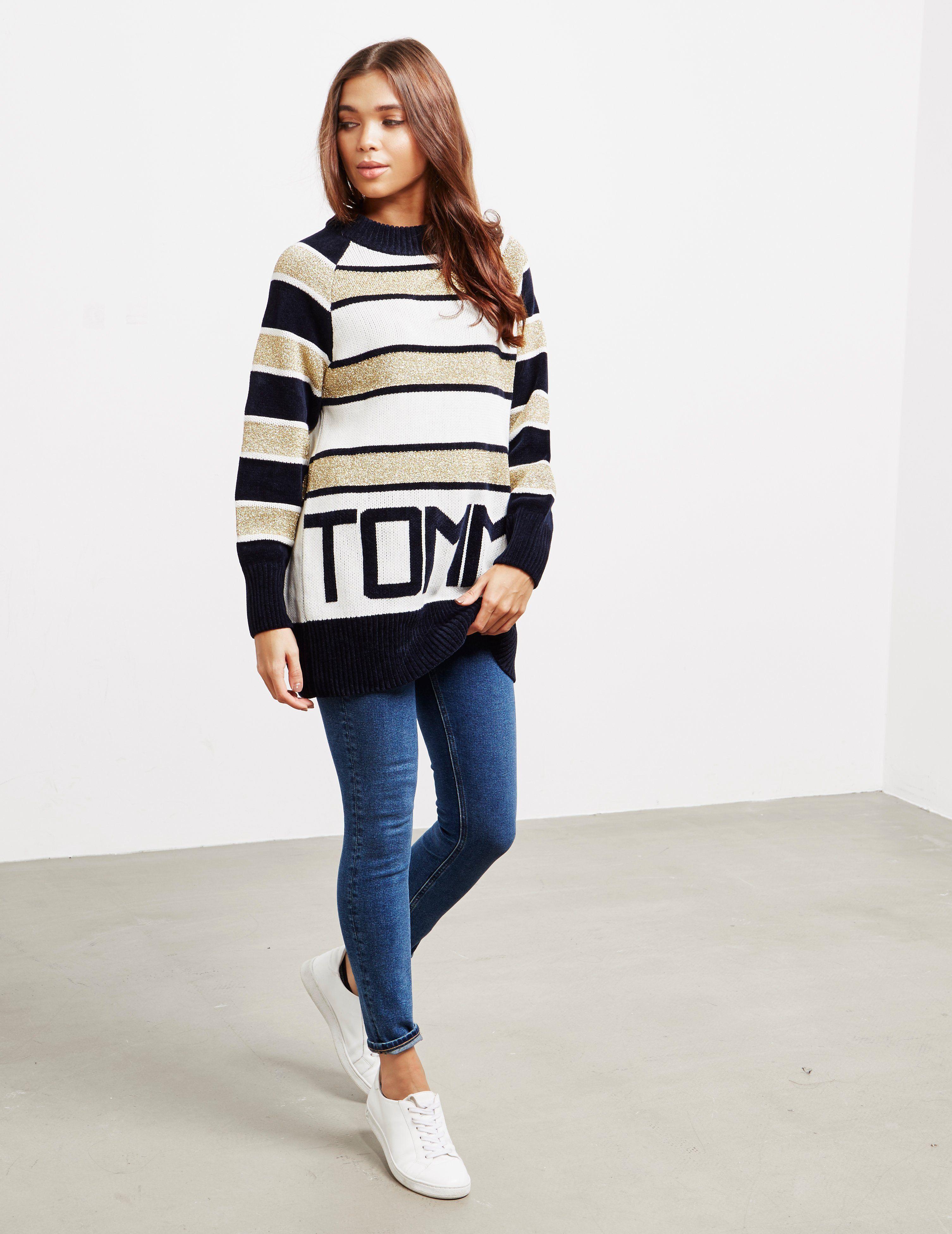 Tommy Hilfiger Tamarah Stripe Knit Jumper