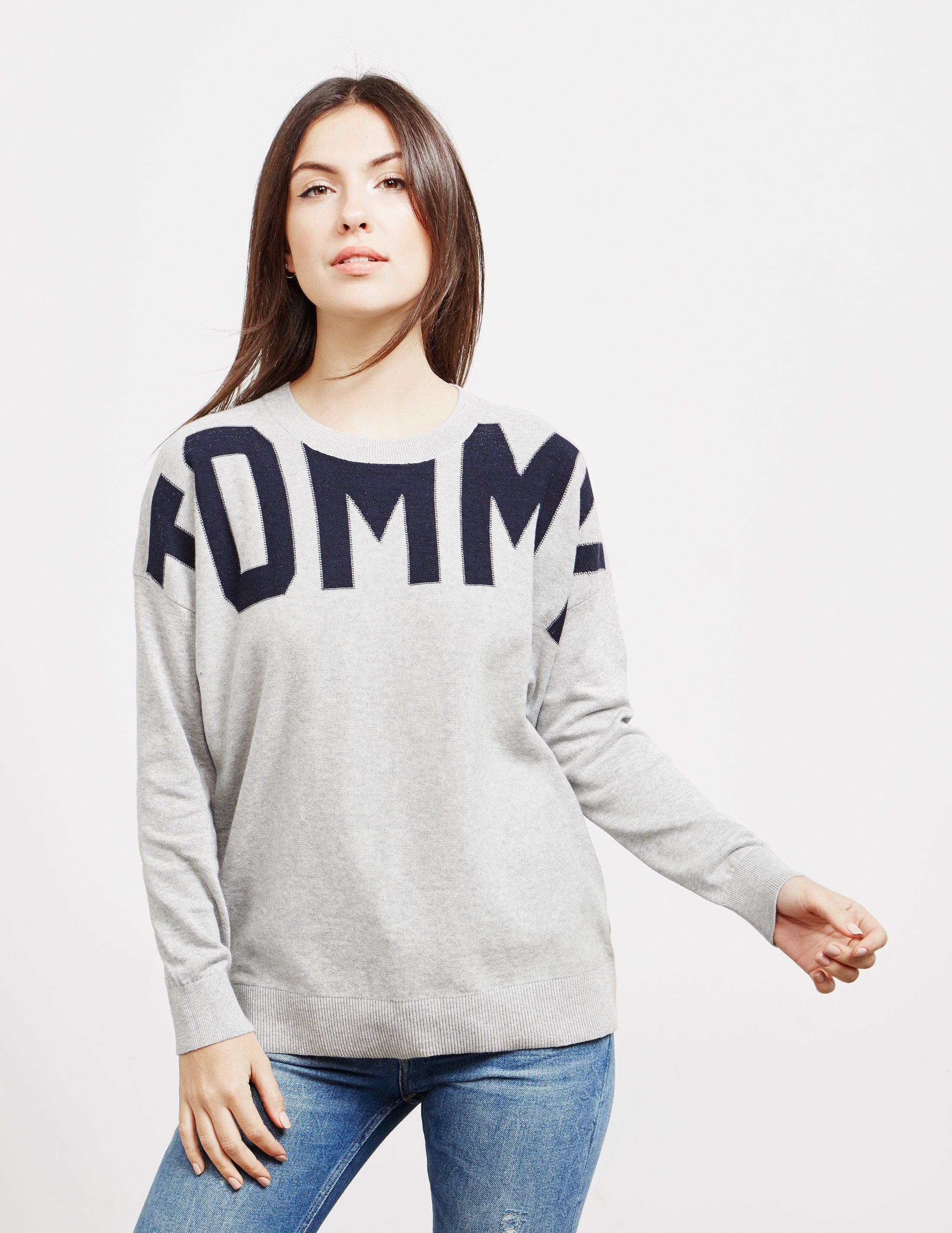Tommy Hilfiger Abstract Logo Knit Jumper