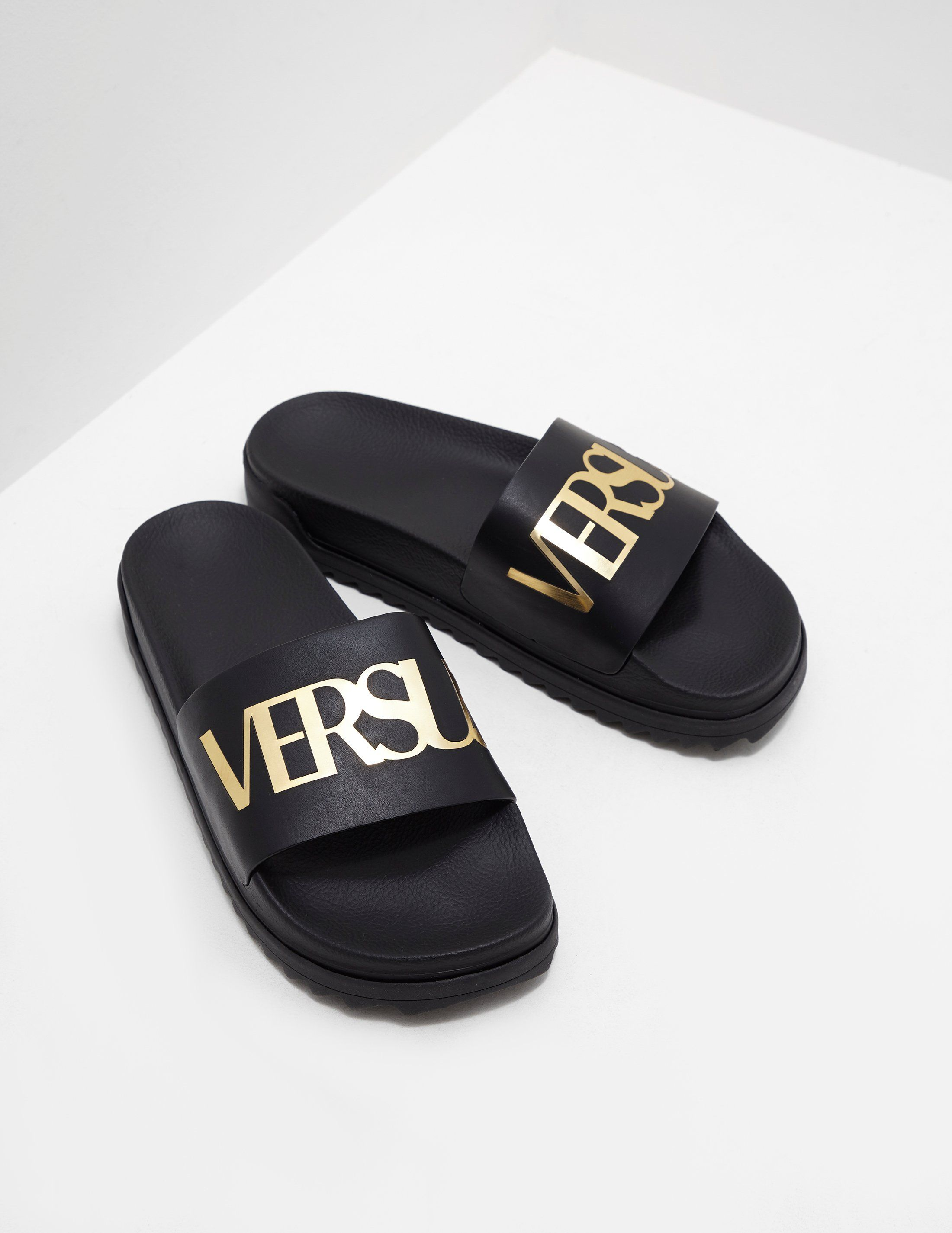 Versus Versace Foil Slides - Online Exclusive