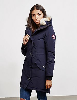 Canada Goose Rossclair Padded Parka Jacket ... 7be8a4c78