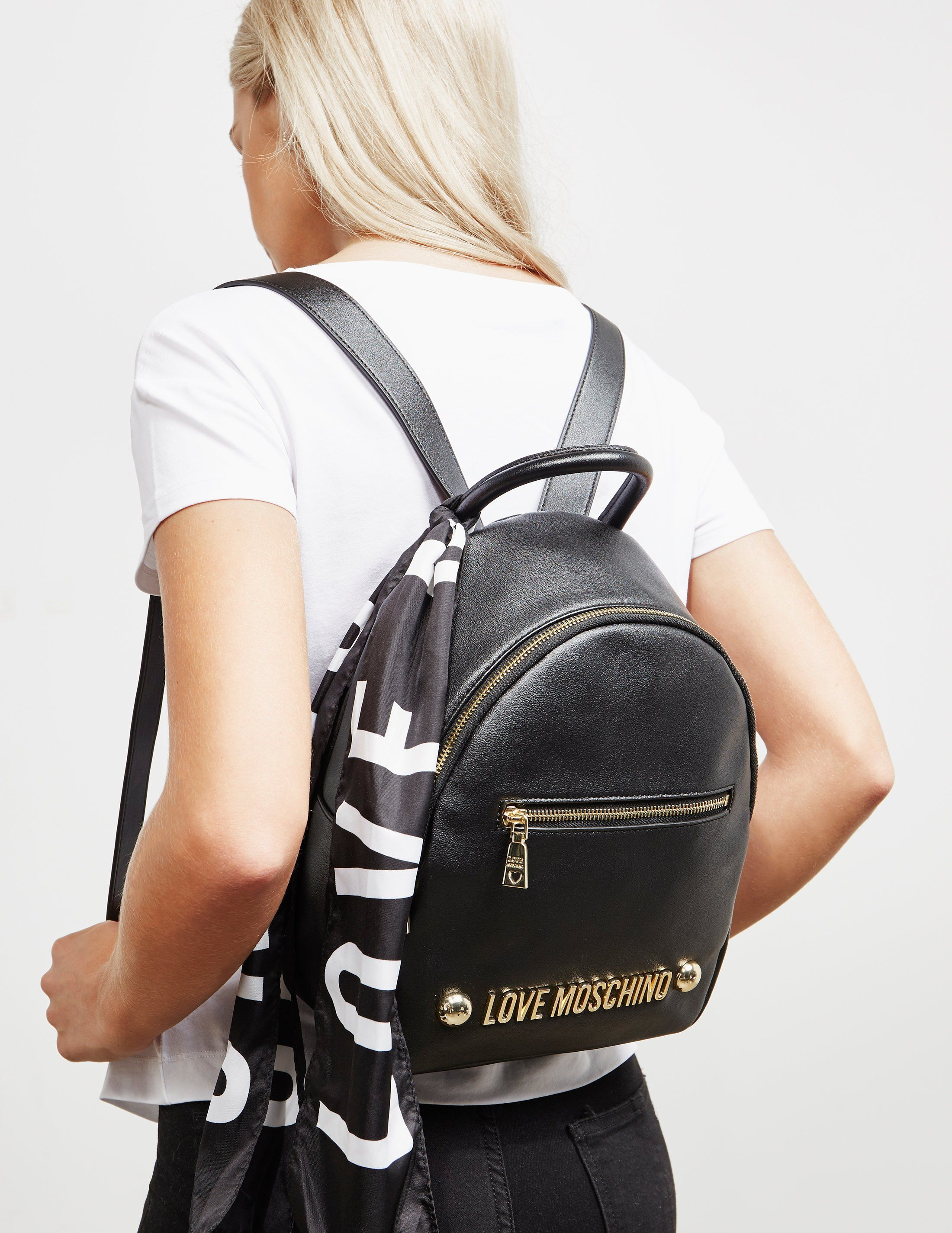 Love Moschino Scarf Backpack