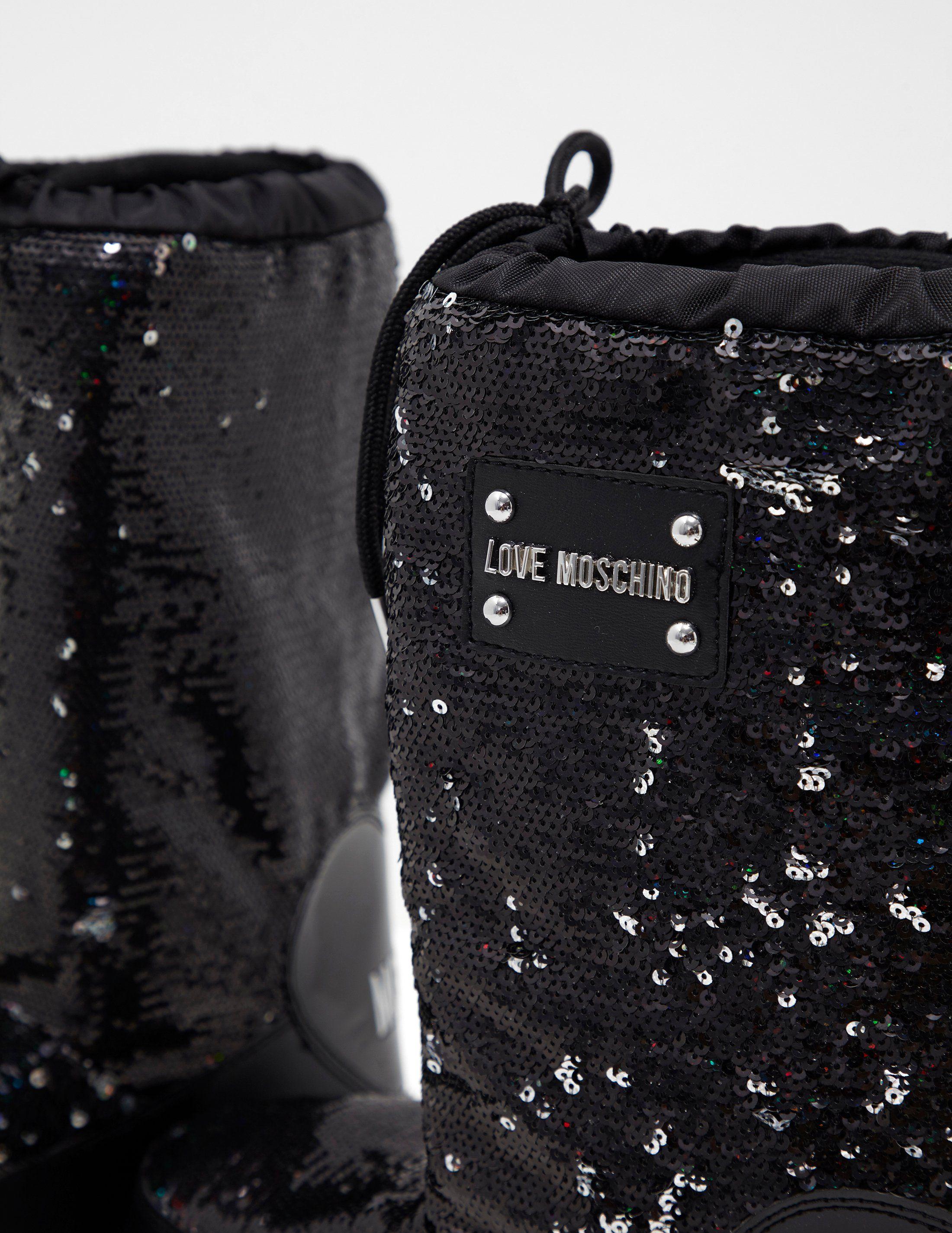 Love Moschino Glitter Boots