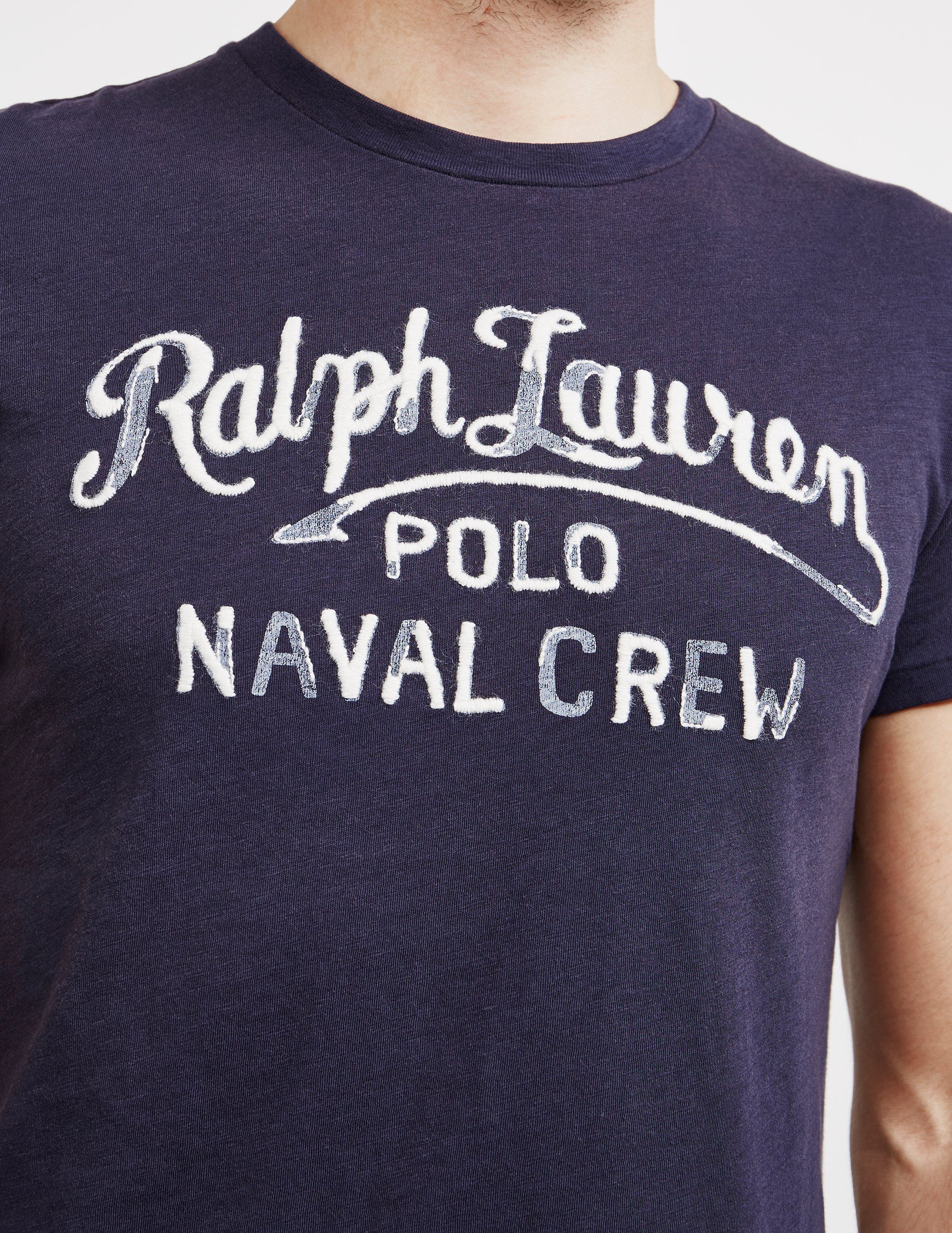 Polo Ralph Lauren Embroidered Logo Short Sleeve T-Shirt