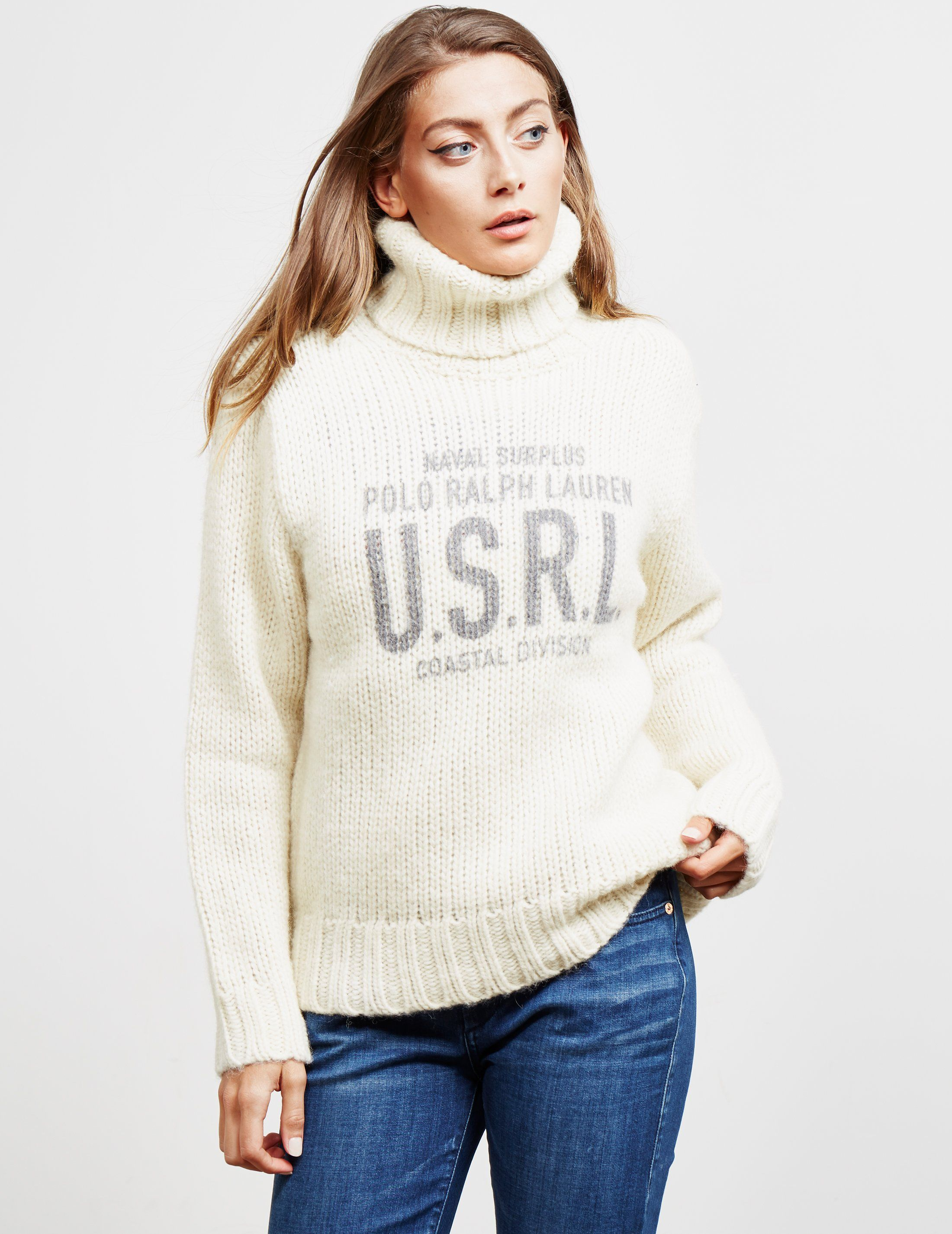 Polo Ralph Lauren Roll Neck Knitted Jumper - Online Exclusive