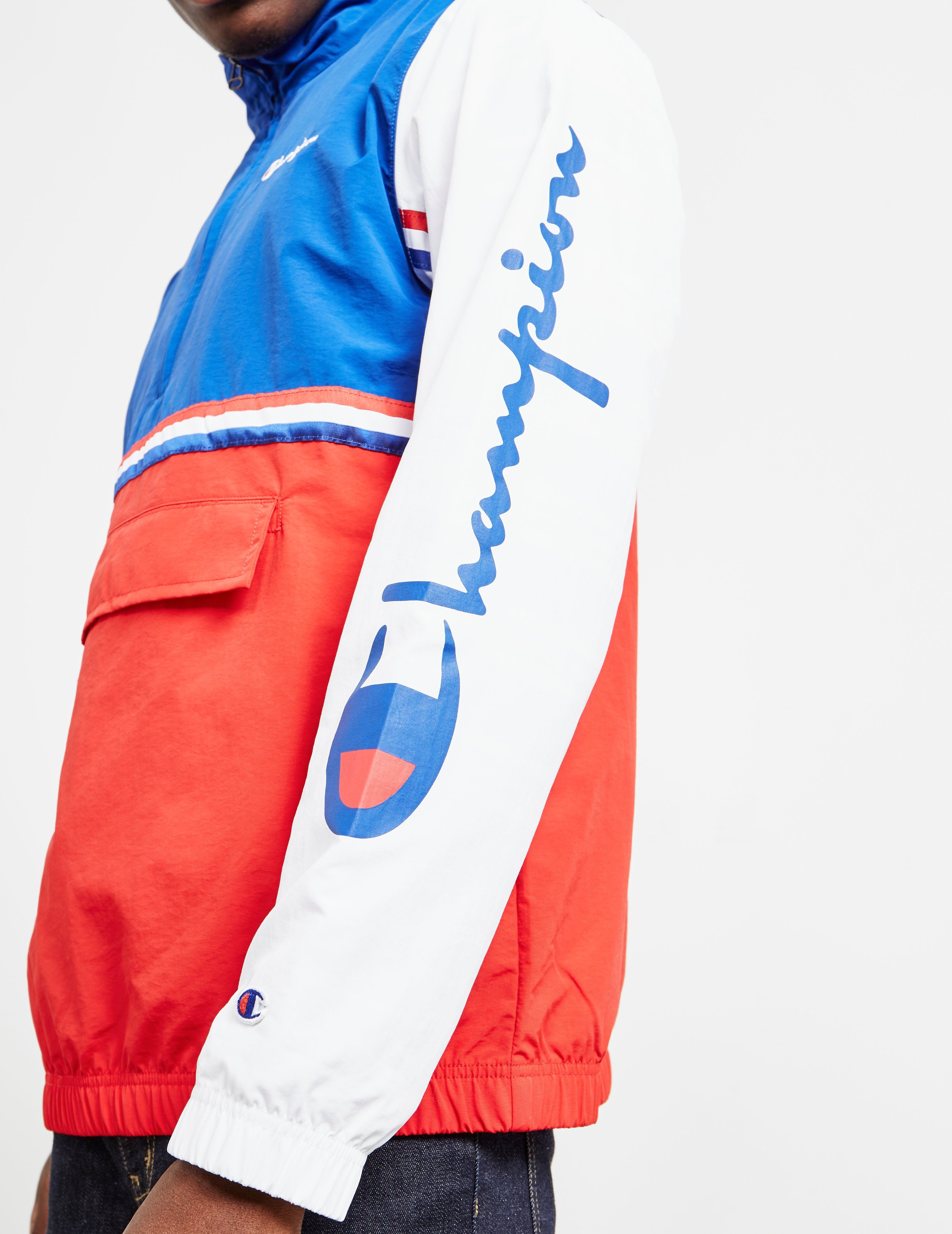 Champion Block Half Zip Track Top
