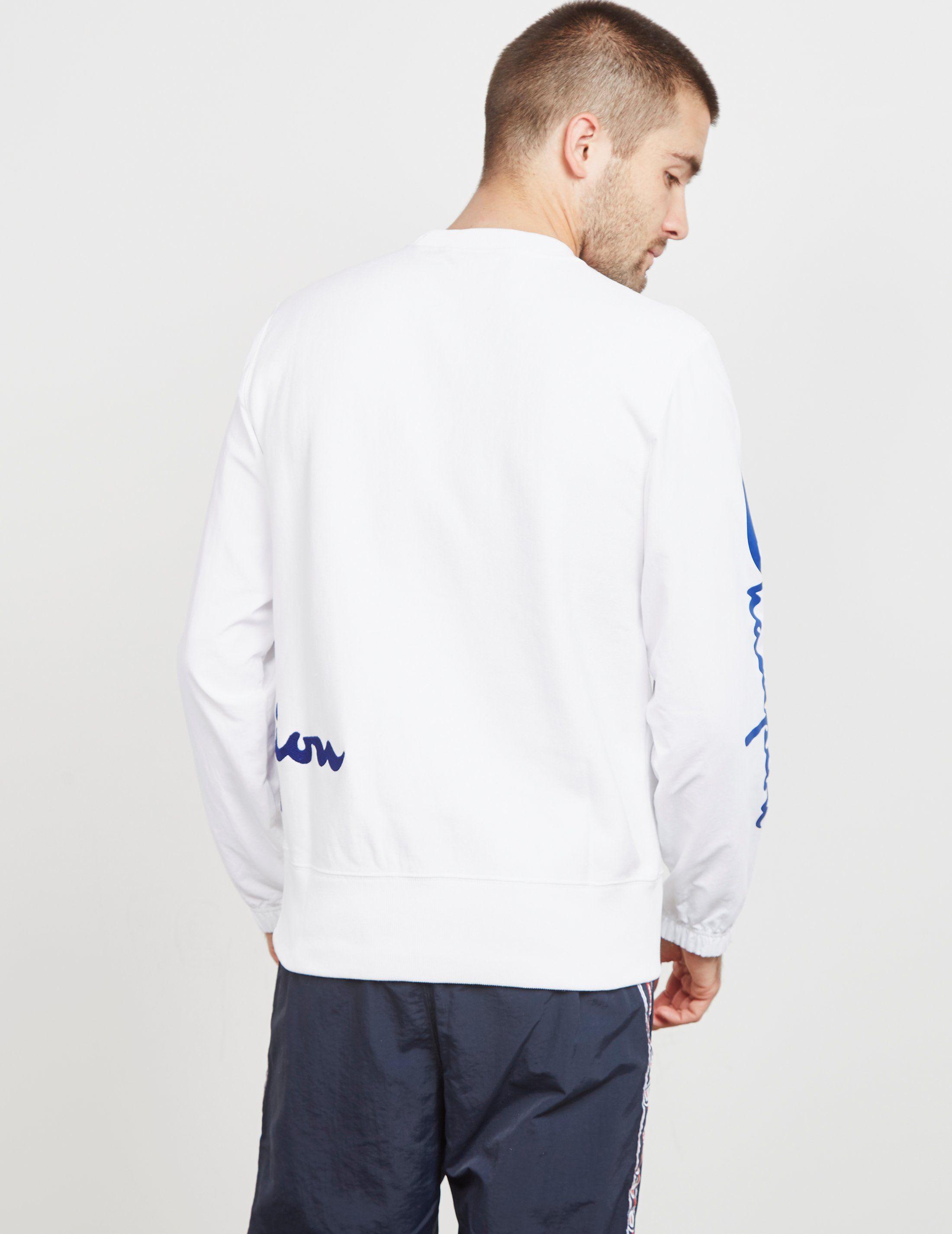 Champion Offset Logo Sweatshirt