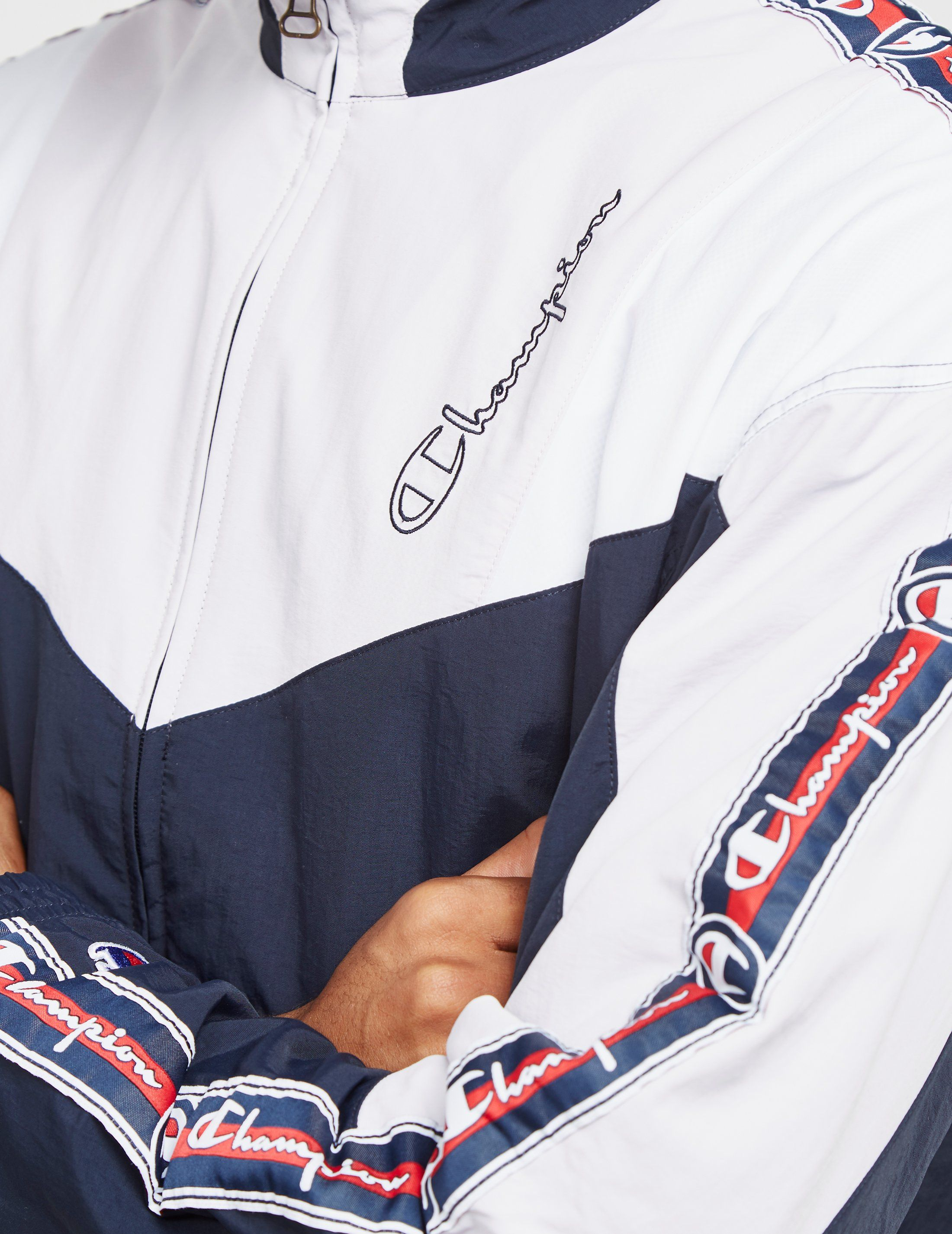 Champion Tape Block Colour Track Top - Online Exclusive