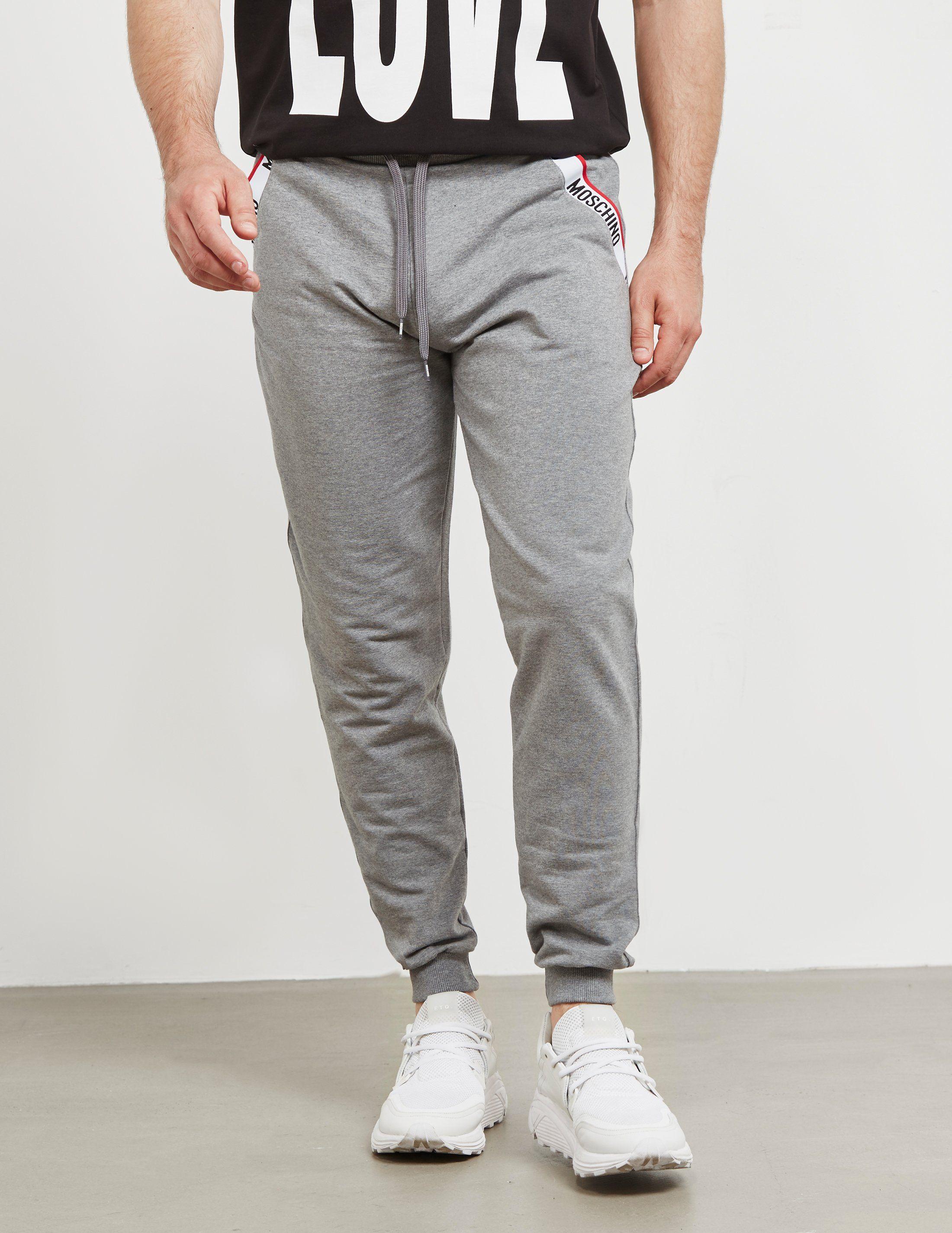 Moschino Tape Cuffed Track Pants