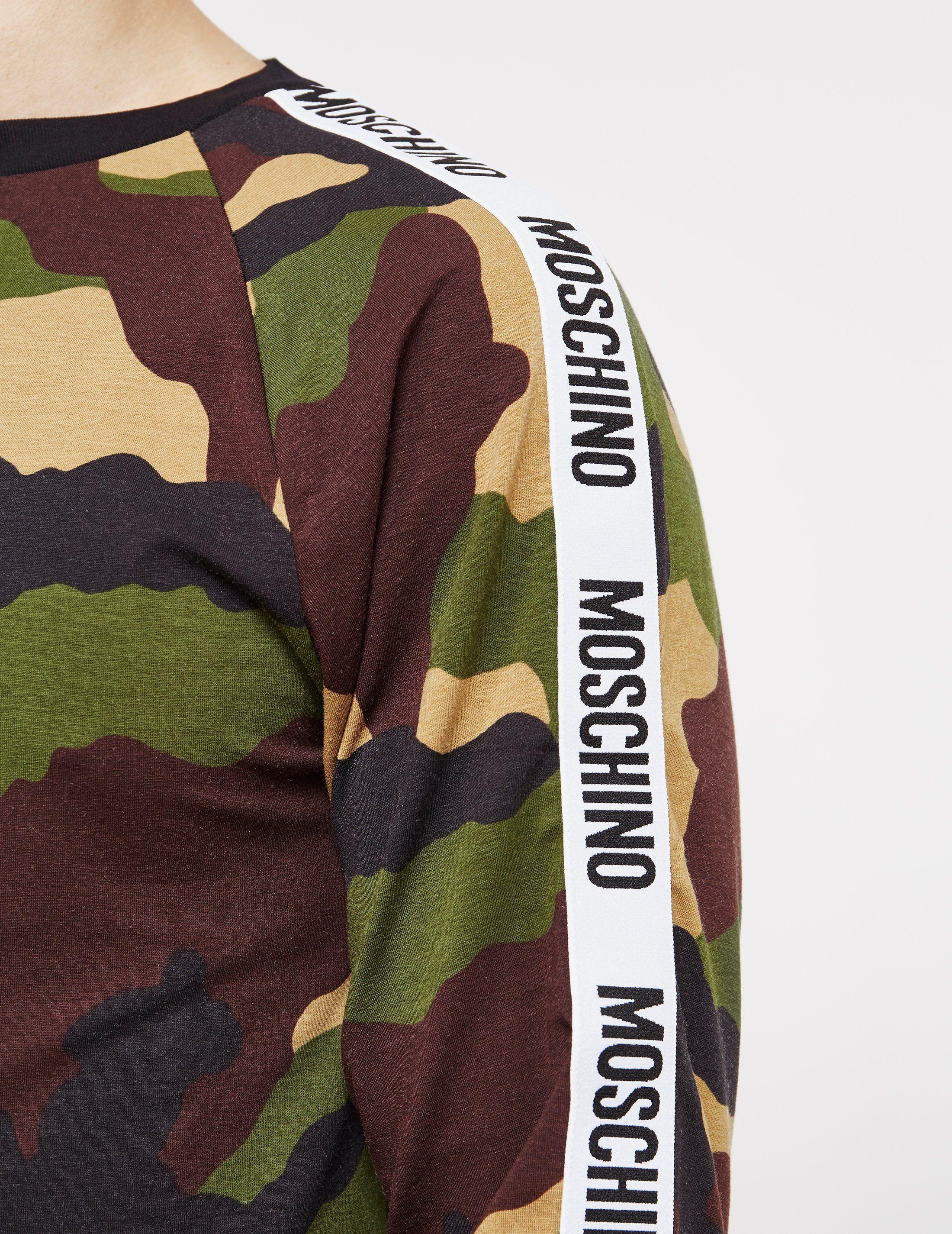 Moschino Tape Long Sleeve T-Shirt