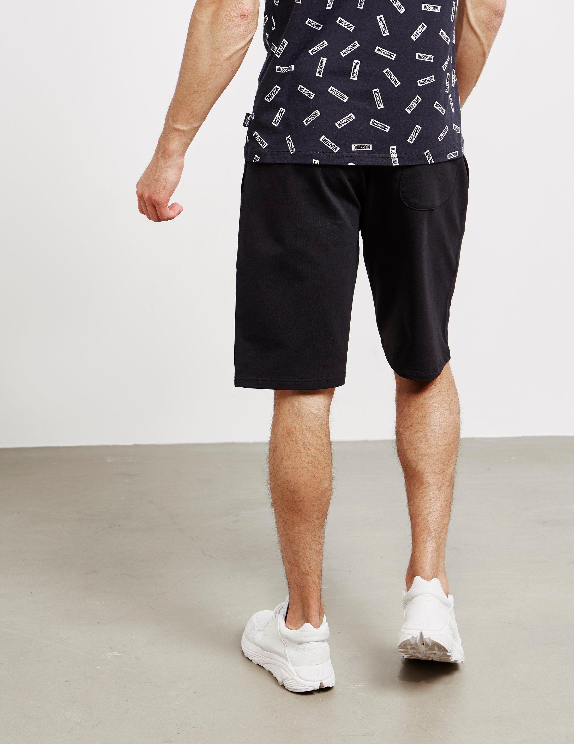 Moschino Tape Fleece Shorts