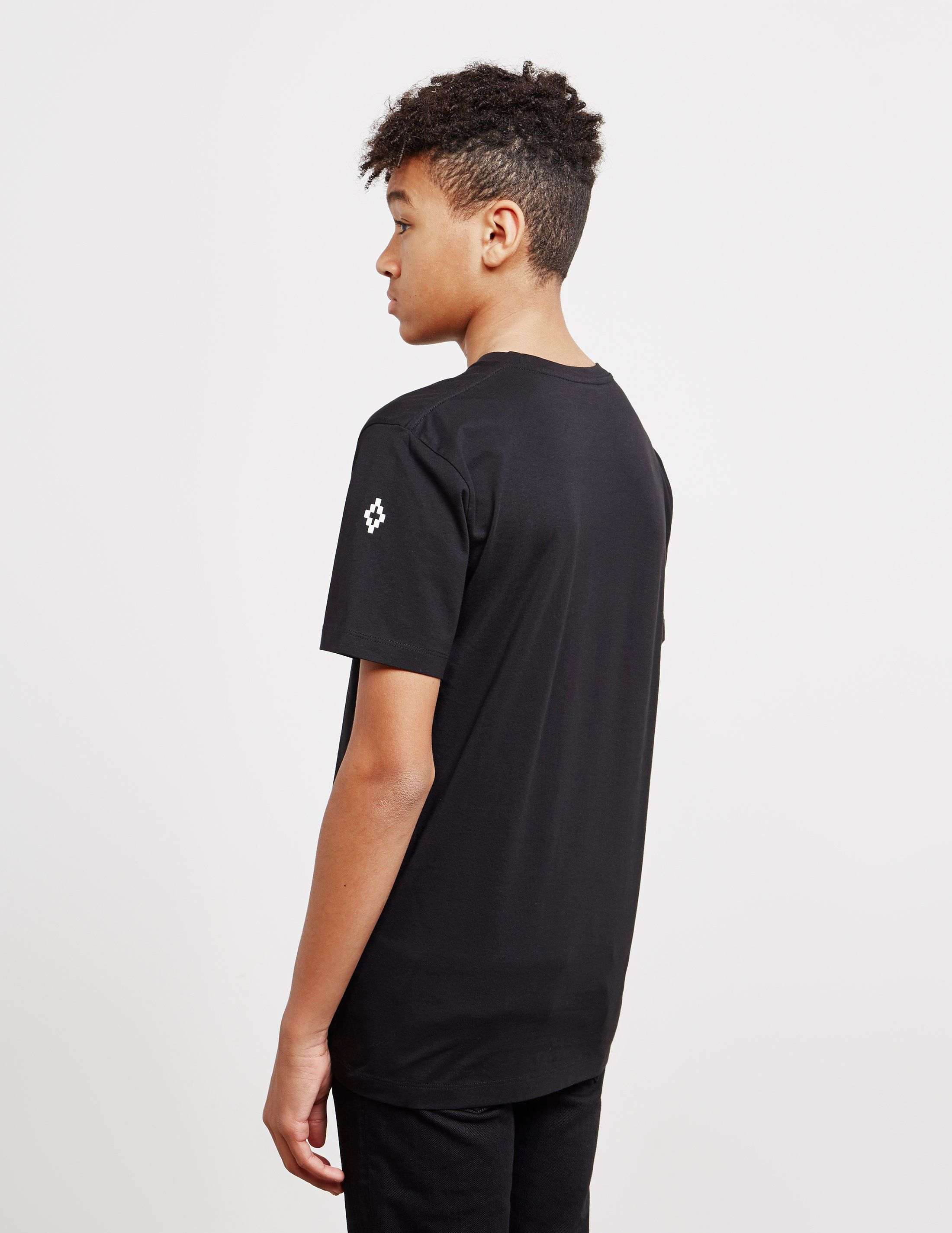 Marcelo Burlon Hybrid Short Sleeve T-Shirt
