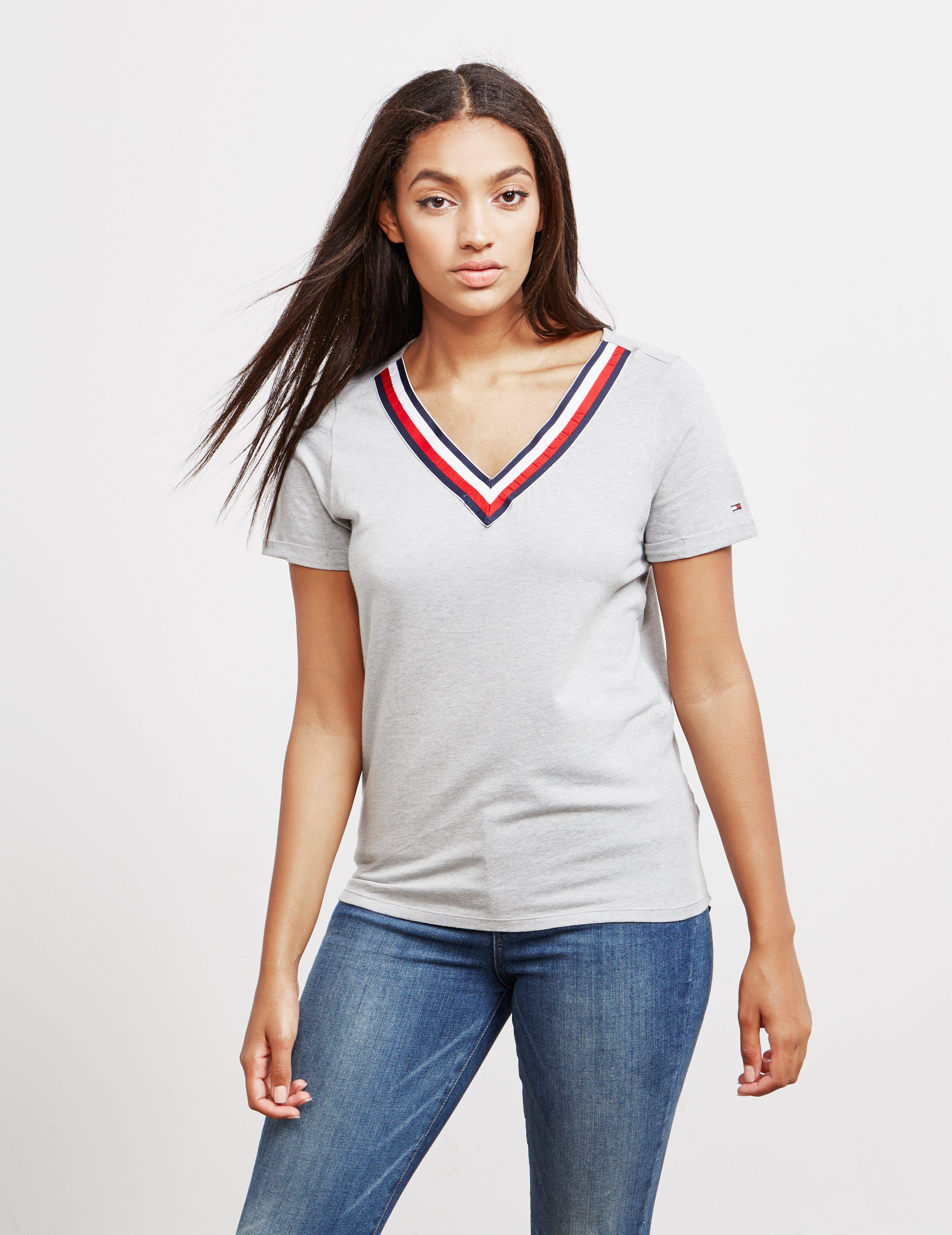 Tommy Hilfiger Underwear V-Neck Short Sleeve T-Shirt - Online Exclusive