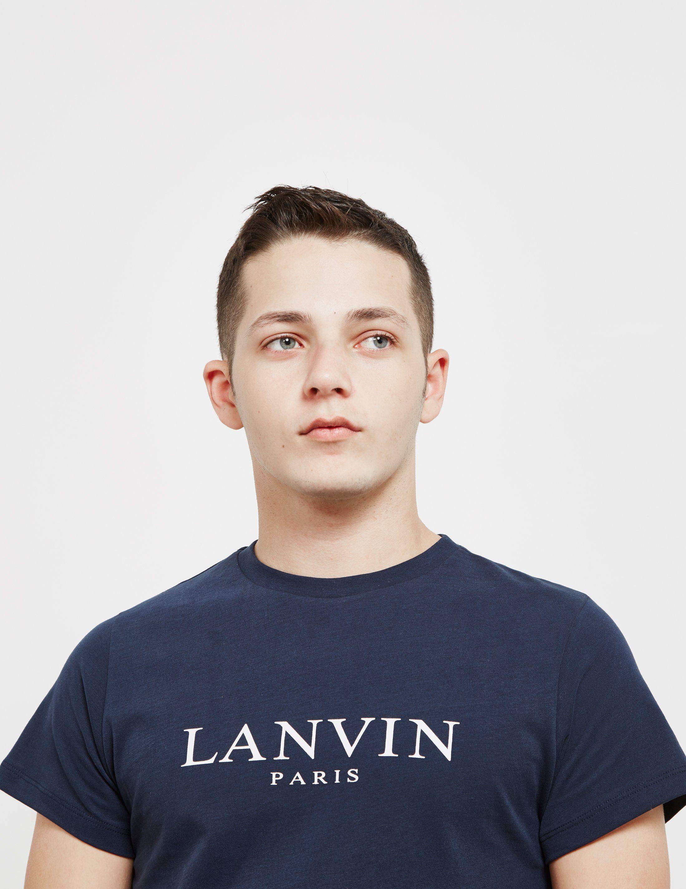 Lanvin Classic Logo Short Sleeve T-Shirt