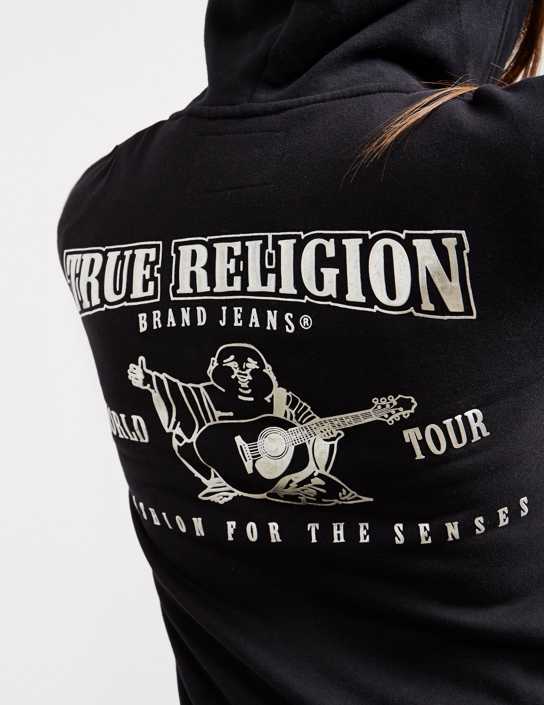 True Religion World Tour Full Zip Hoodie