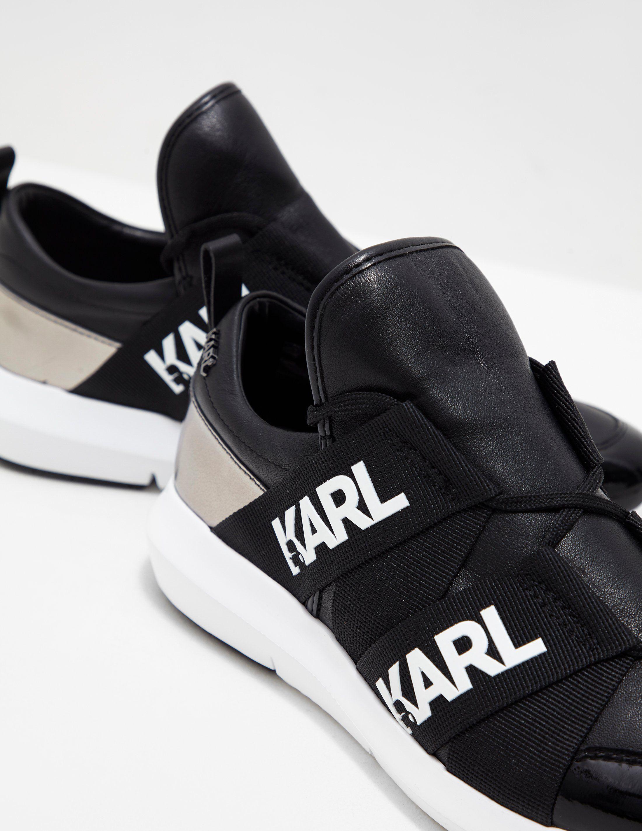 Karl Lagerfeld Strap Trainers