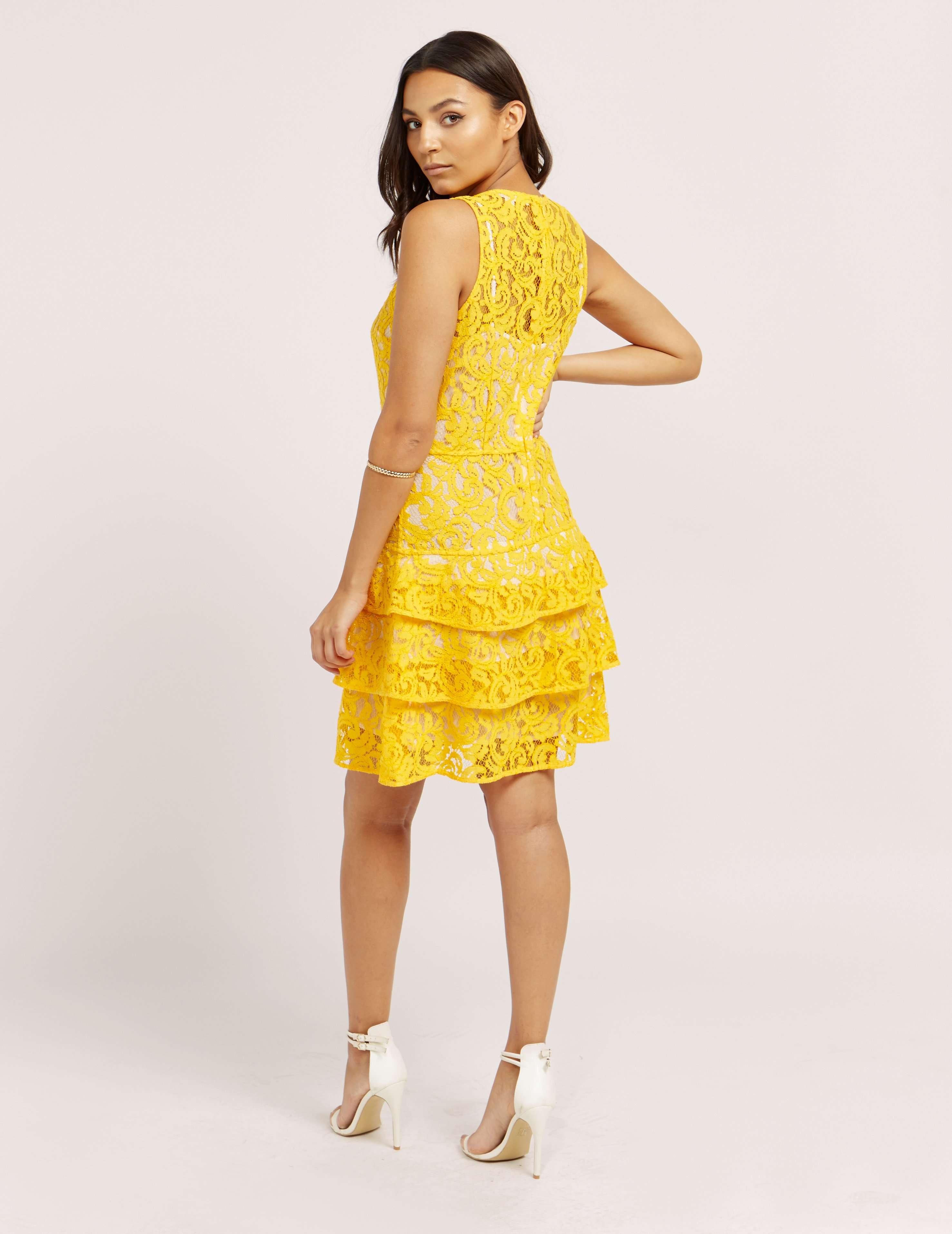 Michael Kors Lace Tier Dress