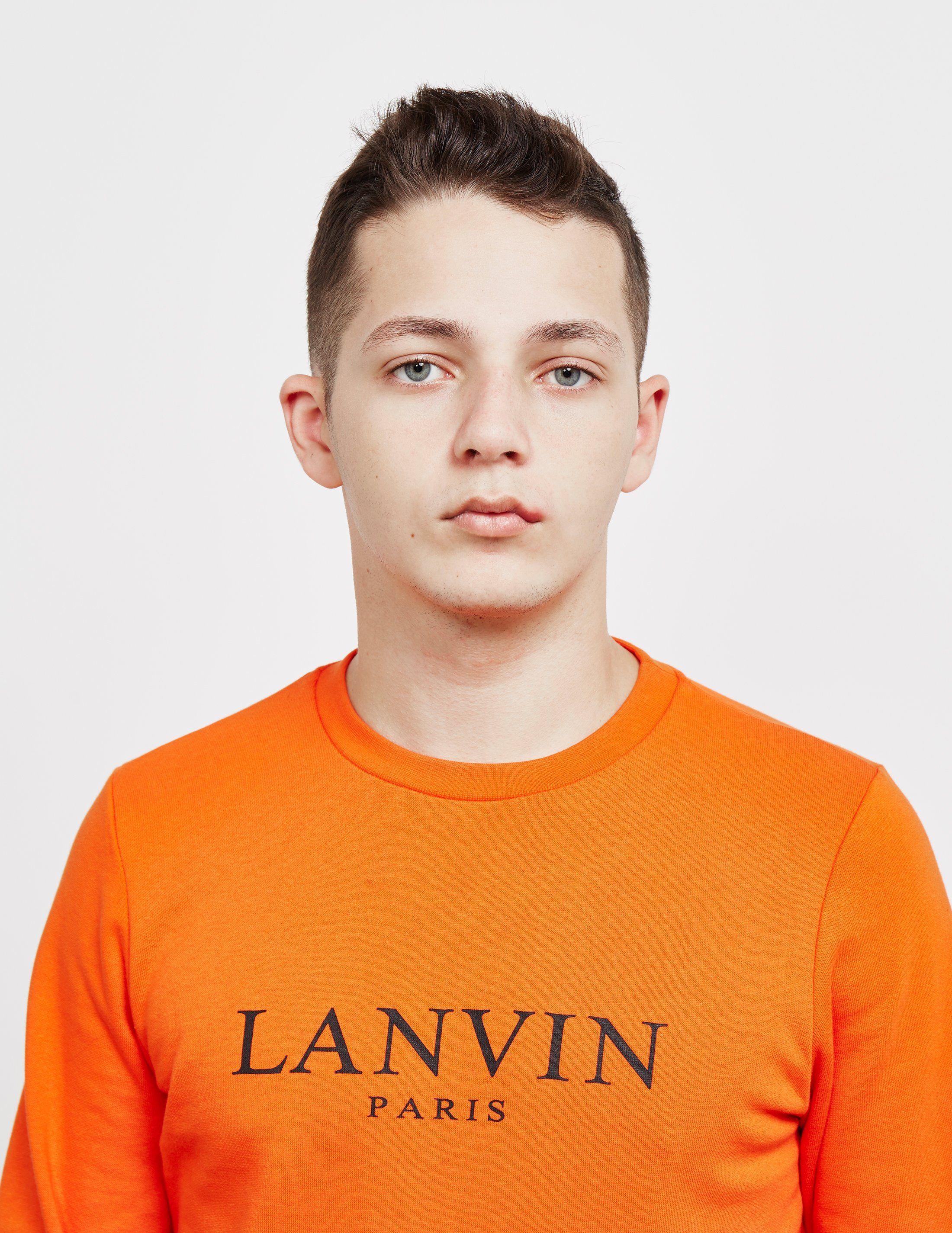Lanvin Logo Sweatshirt